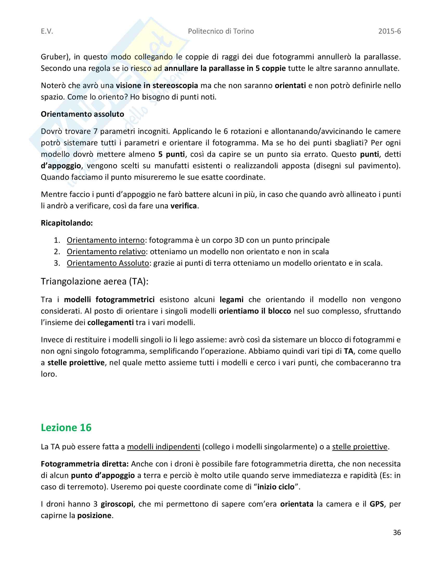 Appunti completi di Geomatica Pag. 36