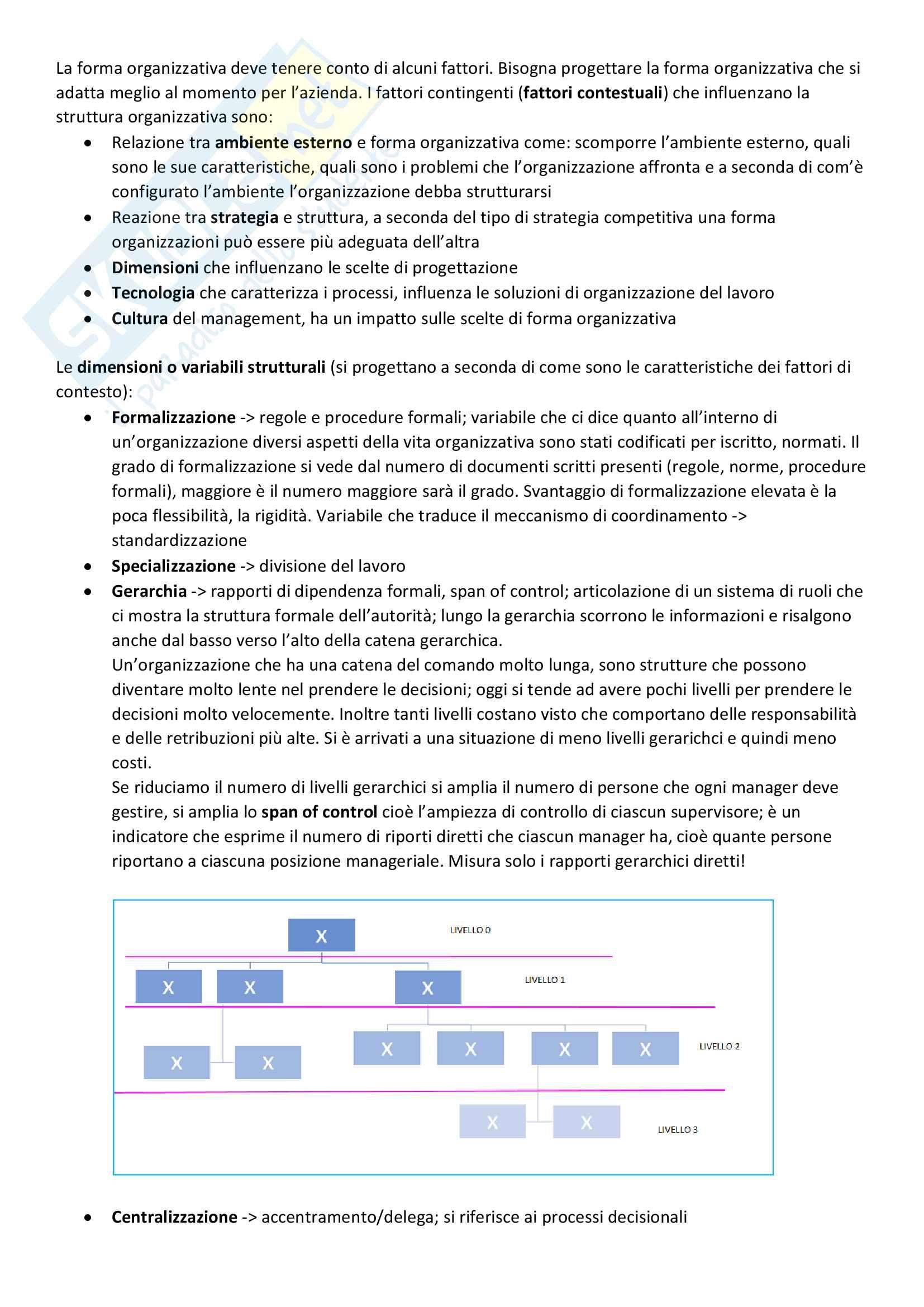 Appunti Organizzazione Pag. 2
