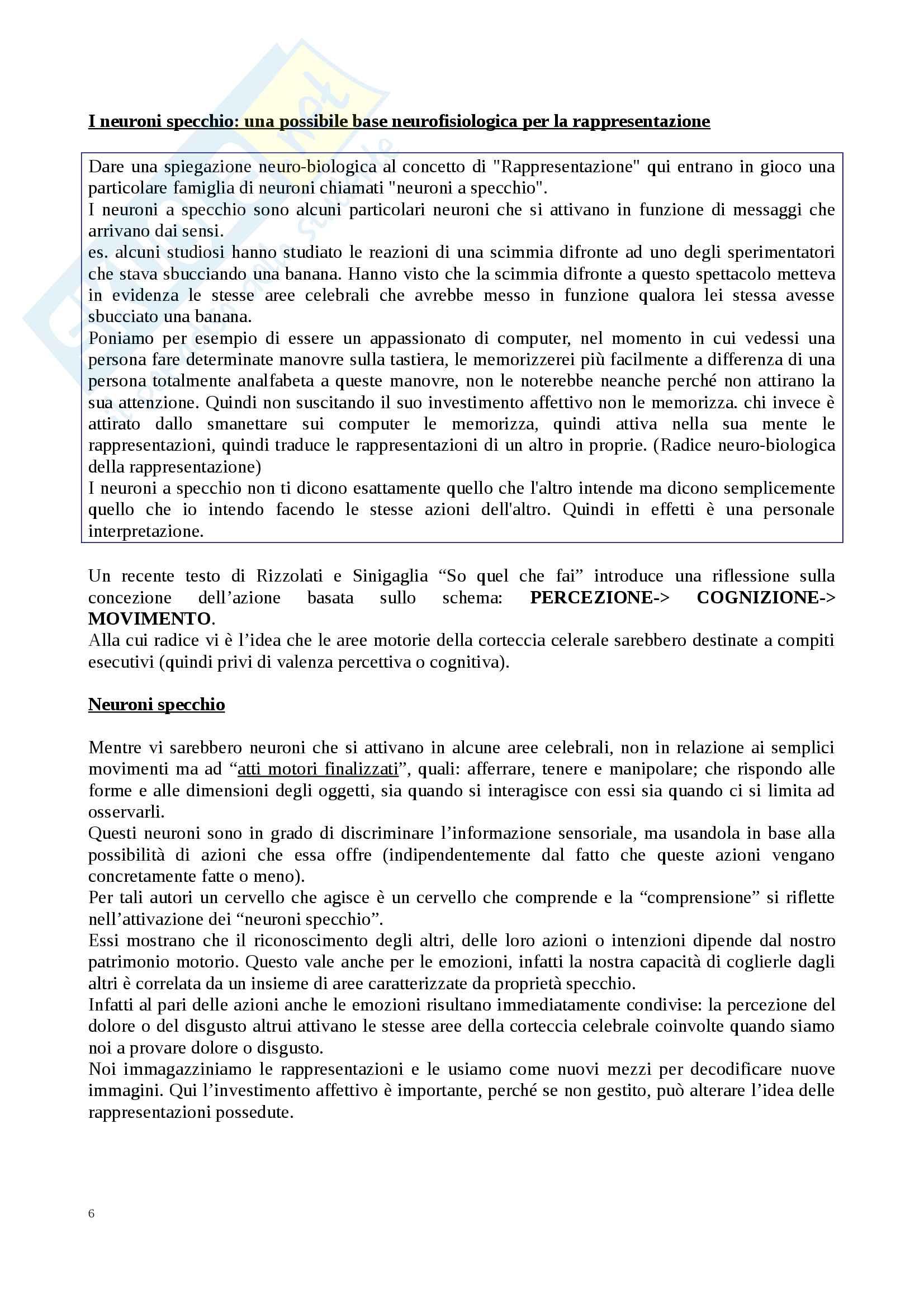 Riassunto esame Comunicazione e Socioterapia, prof. Benvenuti, libro consigliato Lezioni di socioterapia,  Benvenuti Pag. 6