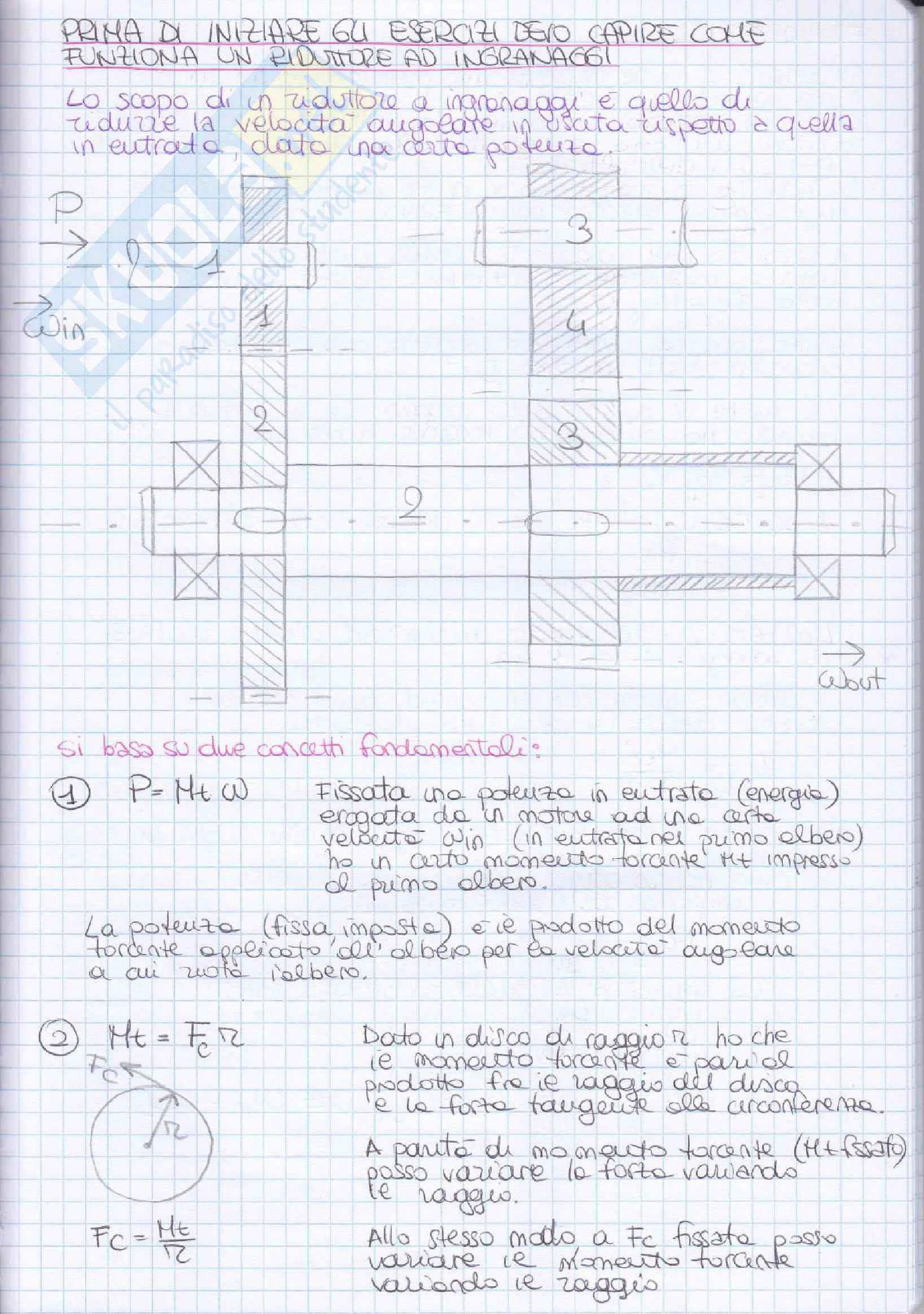 Elementi costruttivi delle macchine - Esercizi esame svolti Pag. 2