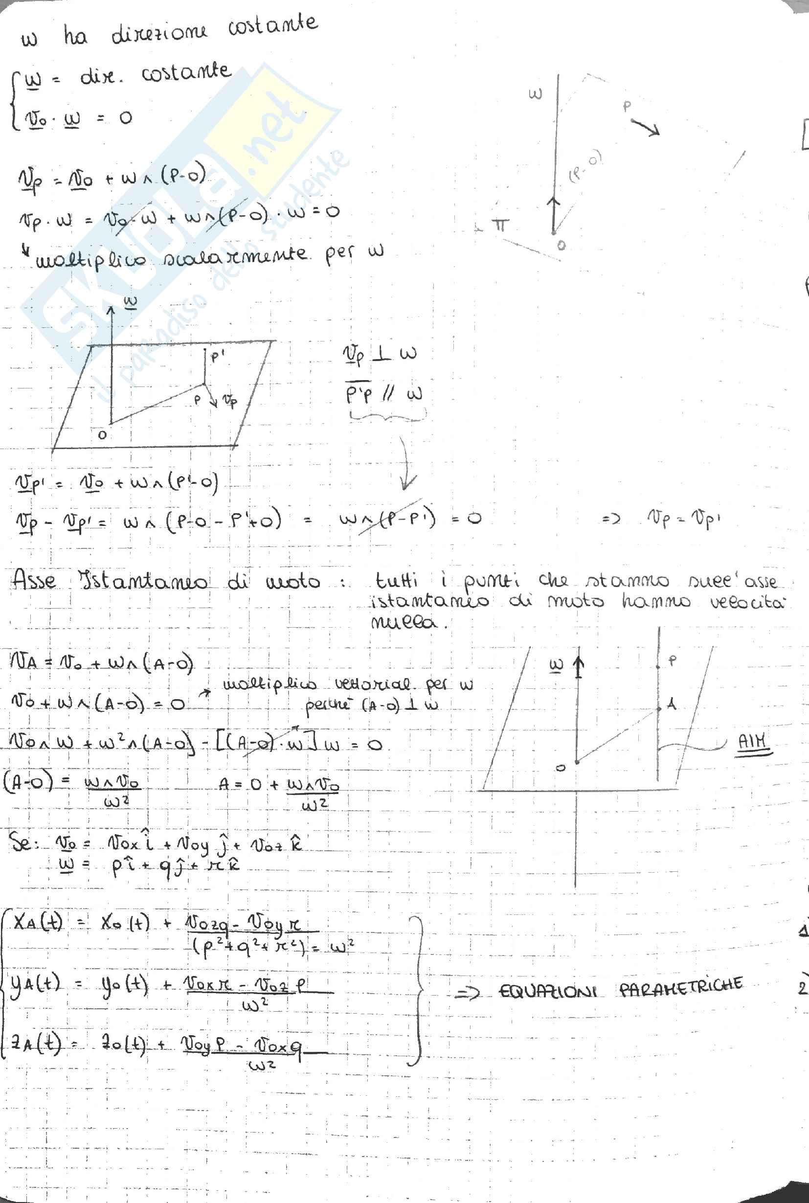 Appunti Meccanica Razionale - Dinamica Pag. 2