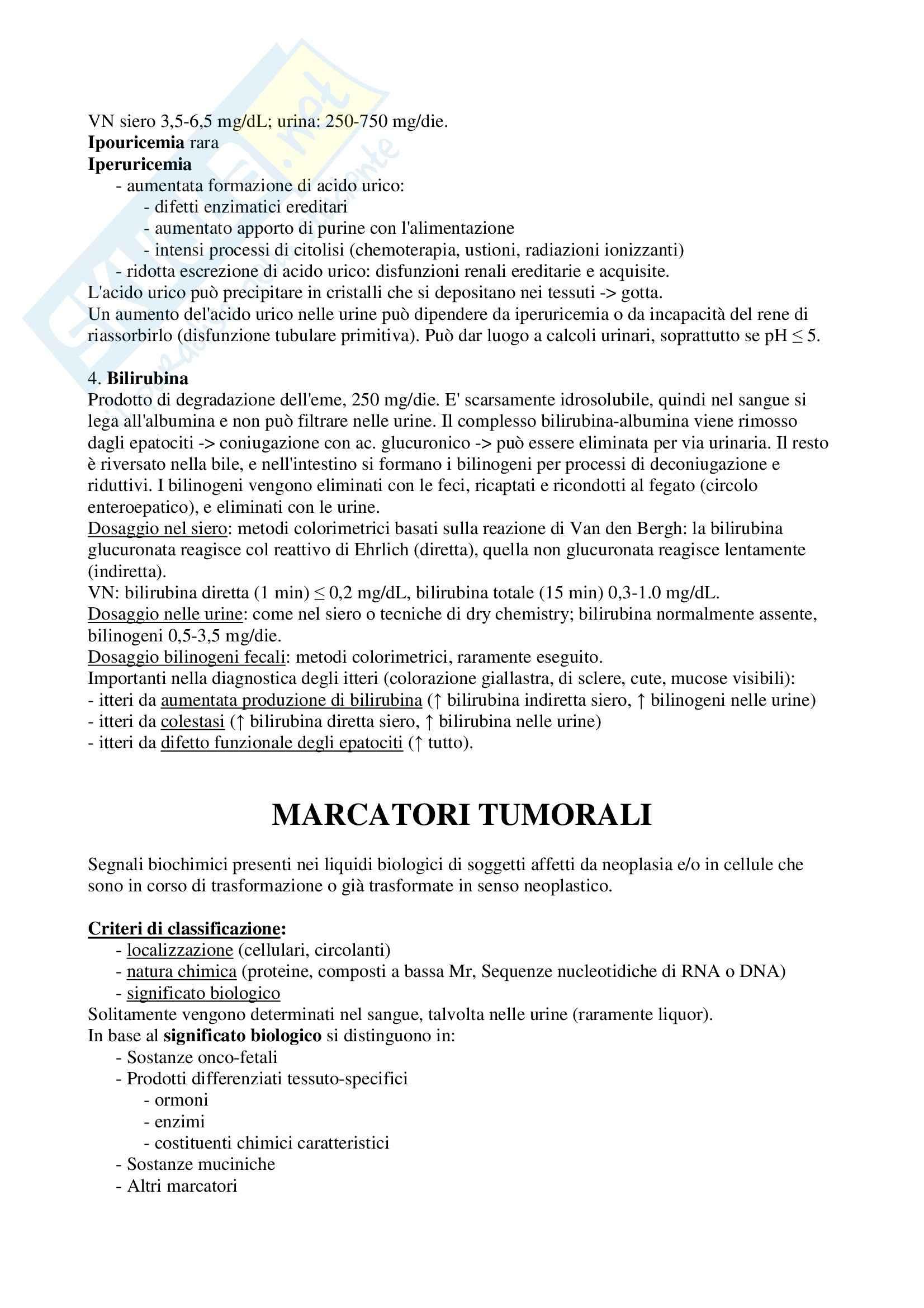 Biochimica clinica - Riassunto esame Pag. 11