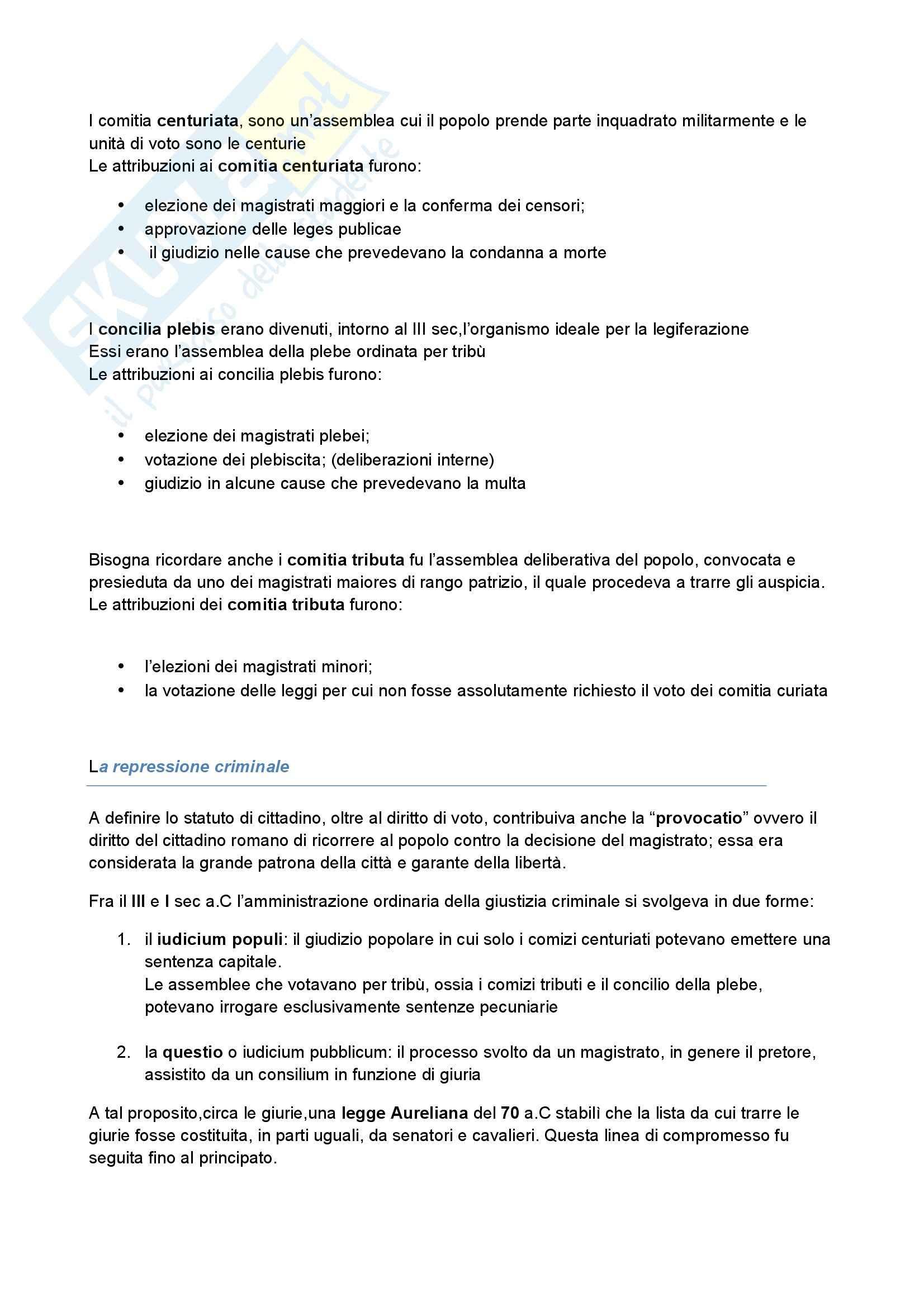 Riassunto esame Storia romana, prof. Albana, libro consigliato Introduzione alla storia di Roma, Gabba Pag. 21