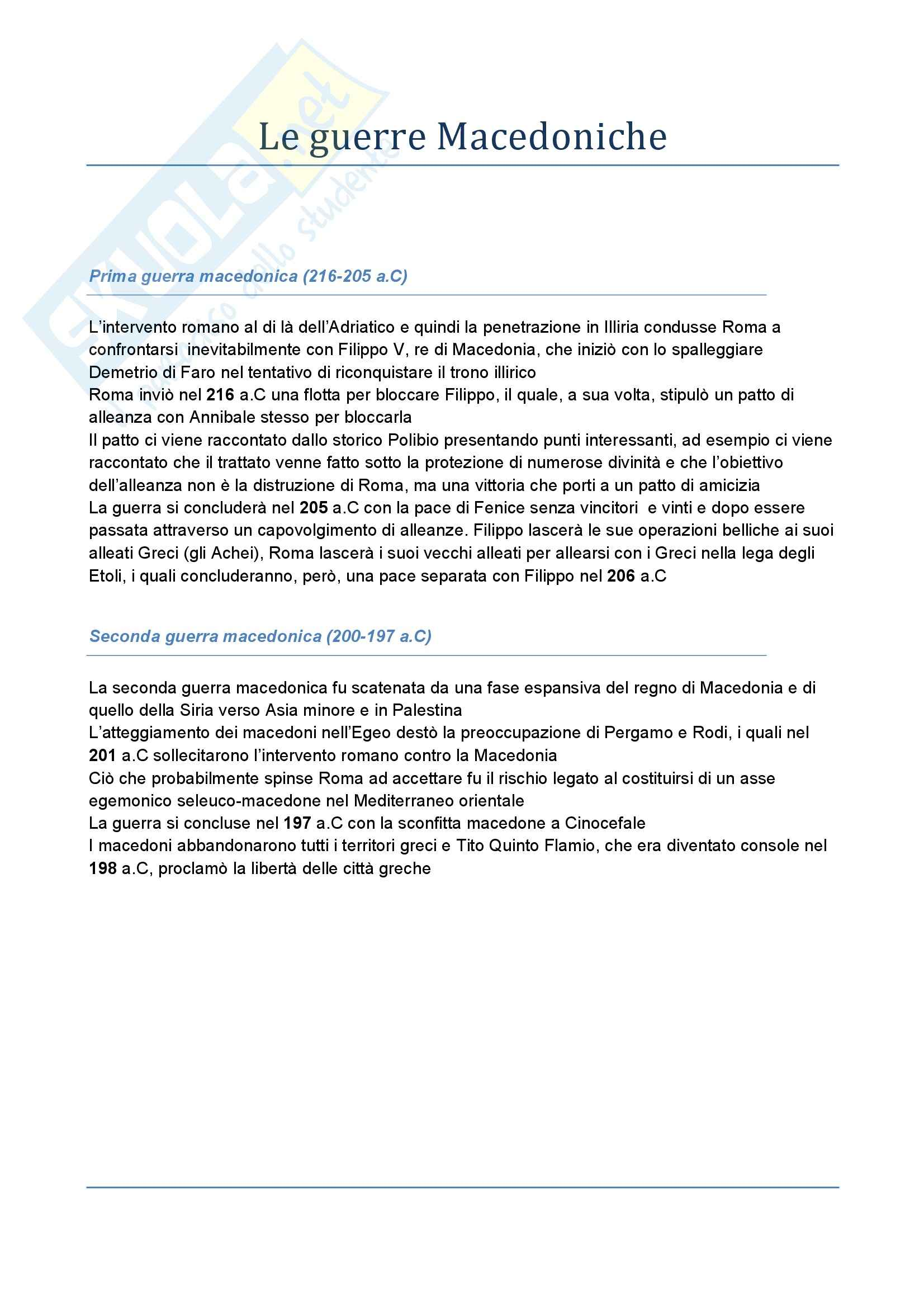 Riassunto esame Storia romana, prof. Albana, libro consigliato Introduzione alla storia di Roma, Gabba Pag. 6