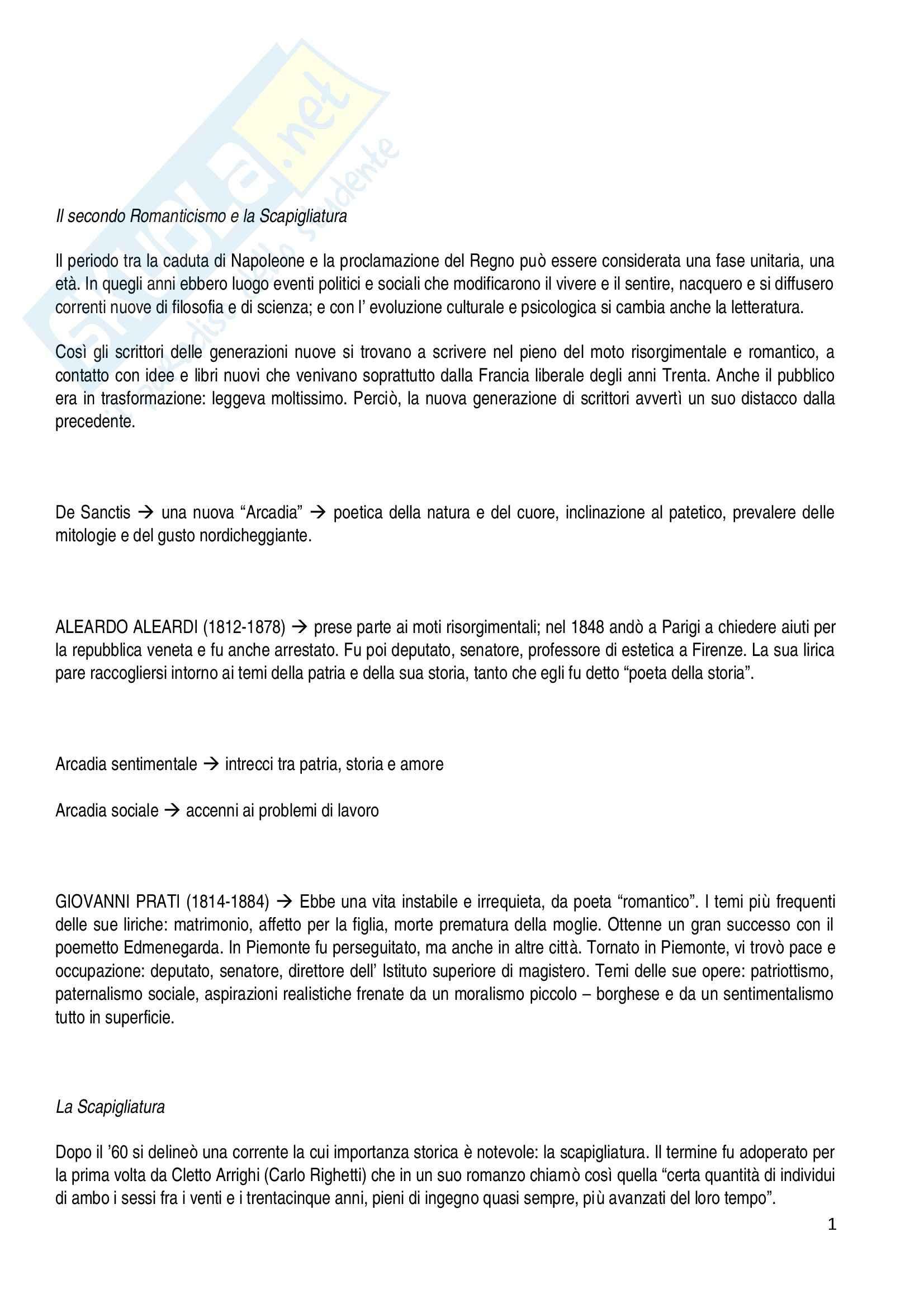 Riassunto esame Letteratura Italiana, prof. Del Ben, libro consigliato L'Attività Letteraria in Italia, Petronio