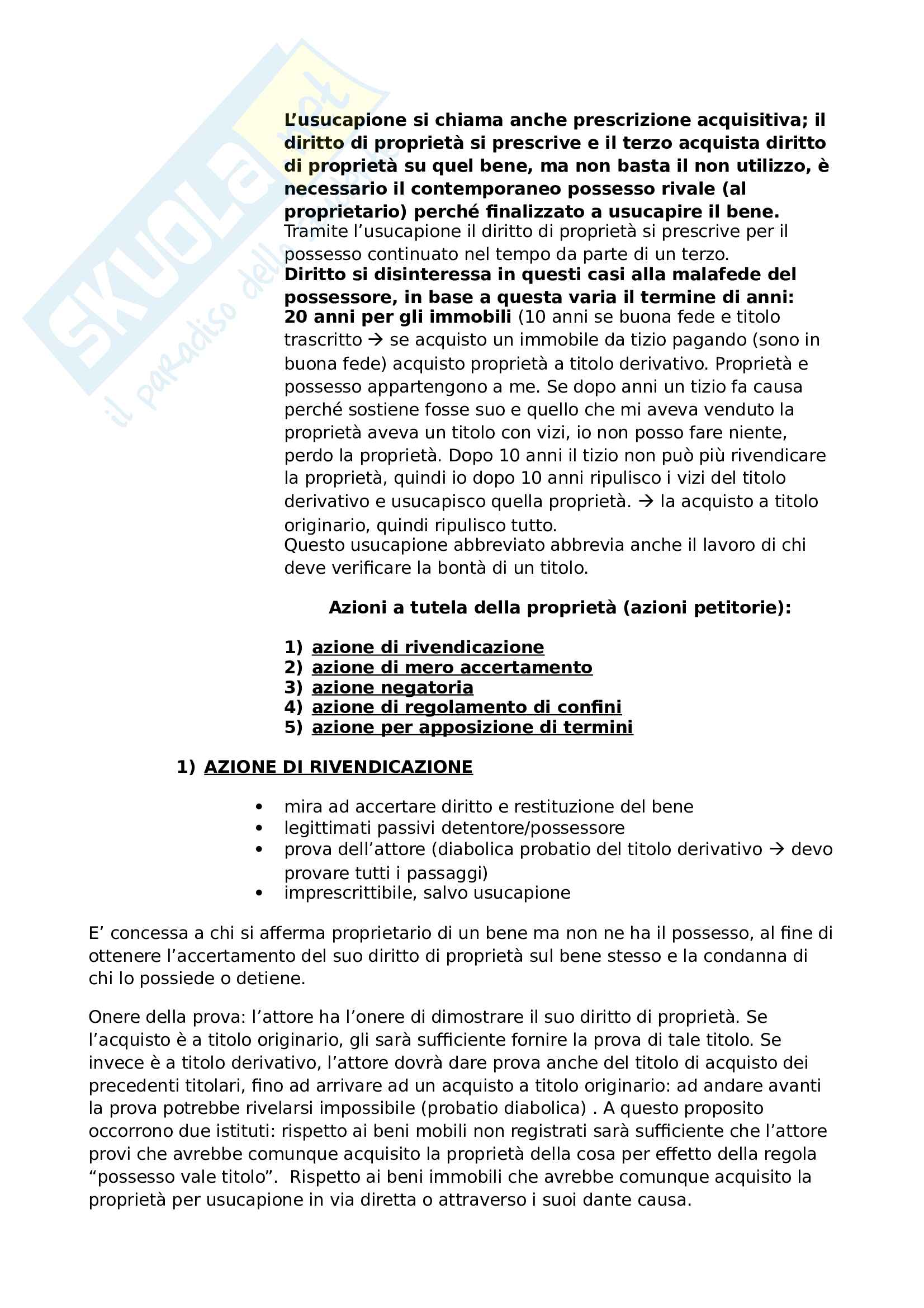 DIRITTO PRIVATO Pag. 31