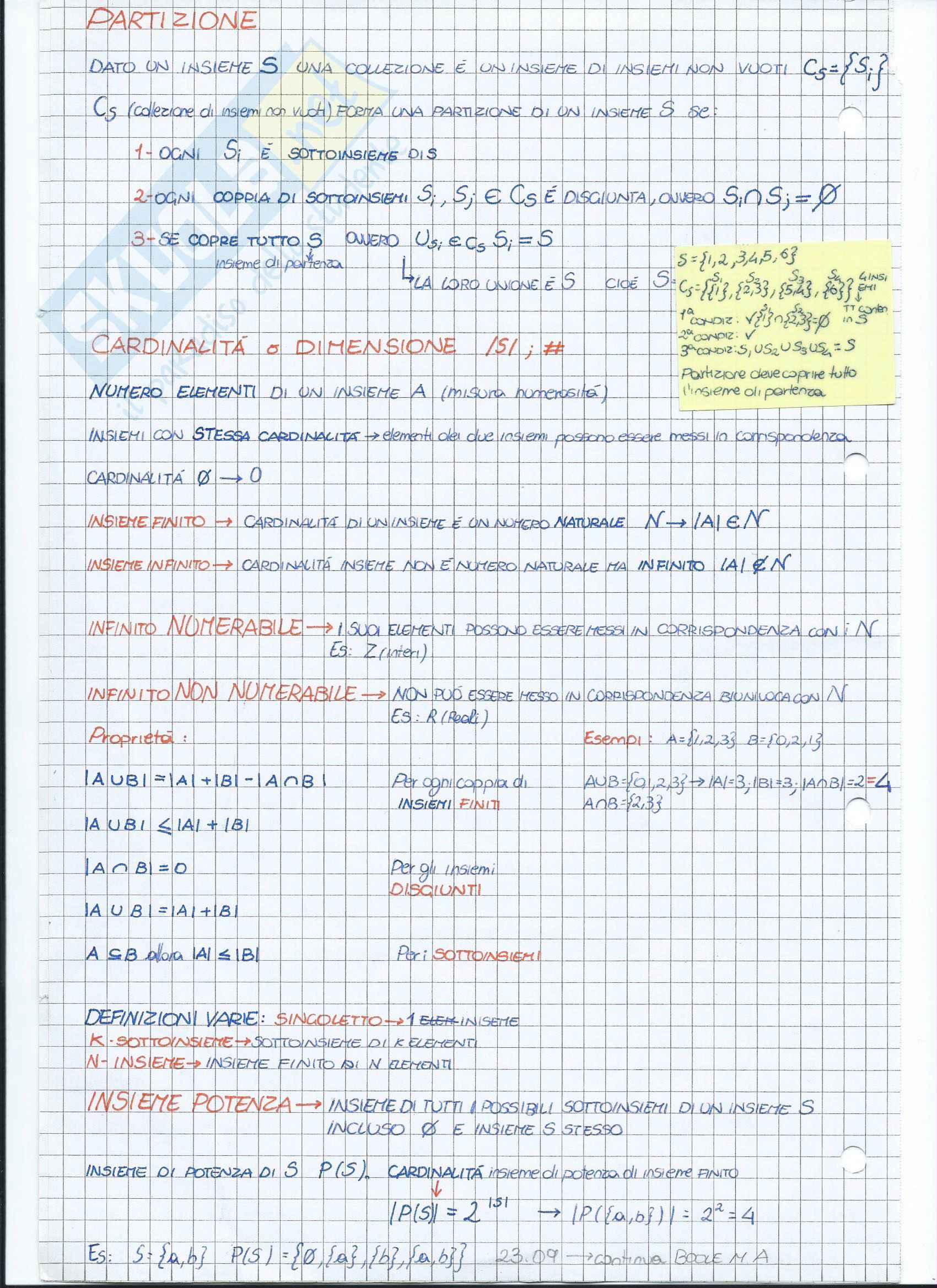 Fondamenti Teorici e Programmazione - Modulo B Pag. 6