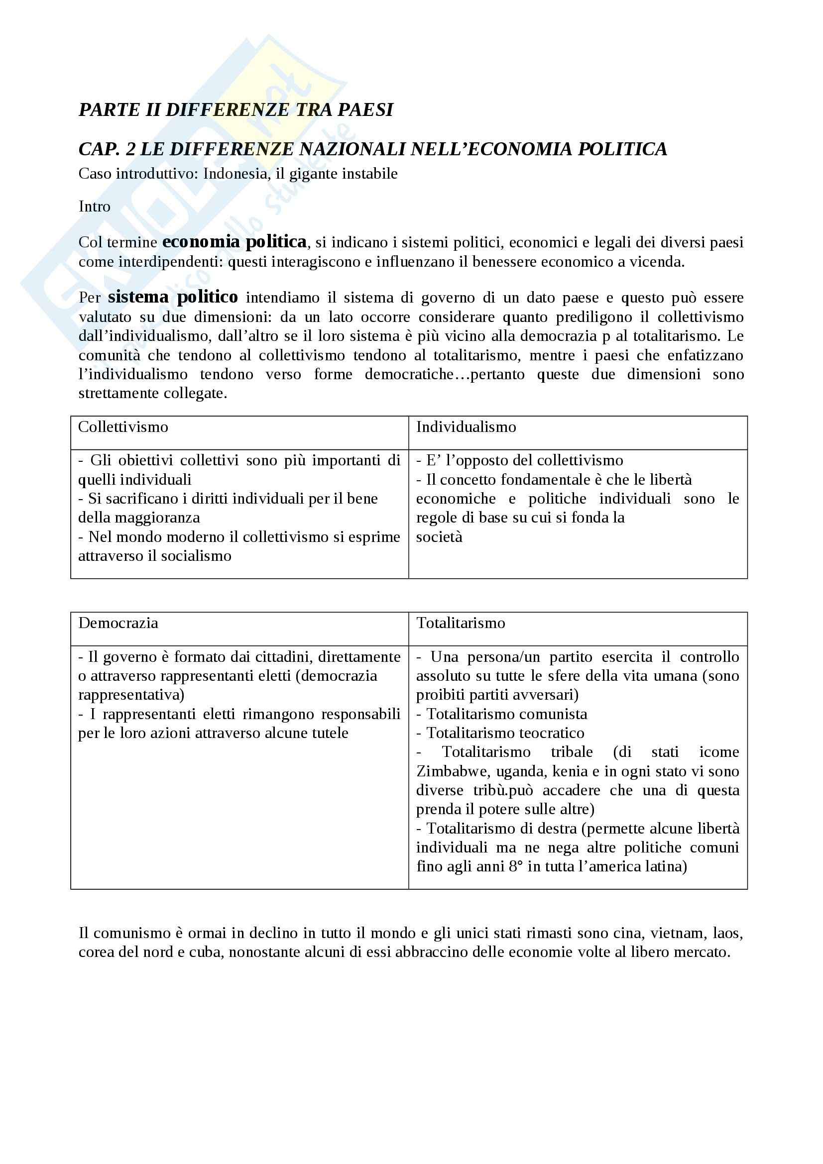 Riassunto esame Organizzazione, prof. Nacamulli, libro consigliato International Business, Hill Pag. 6