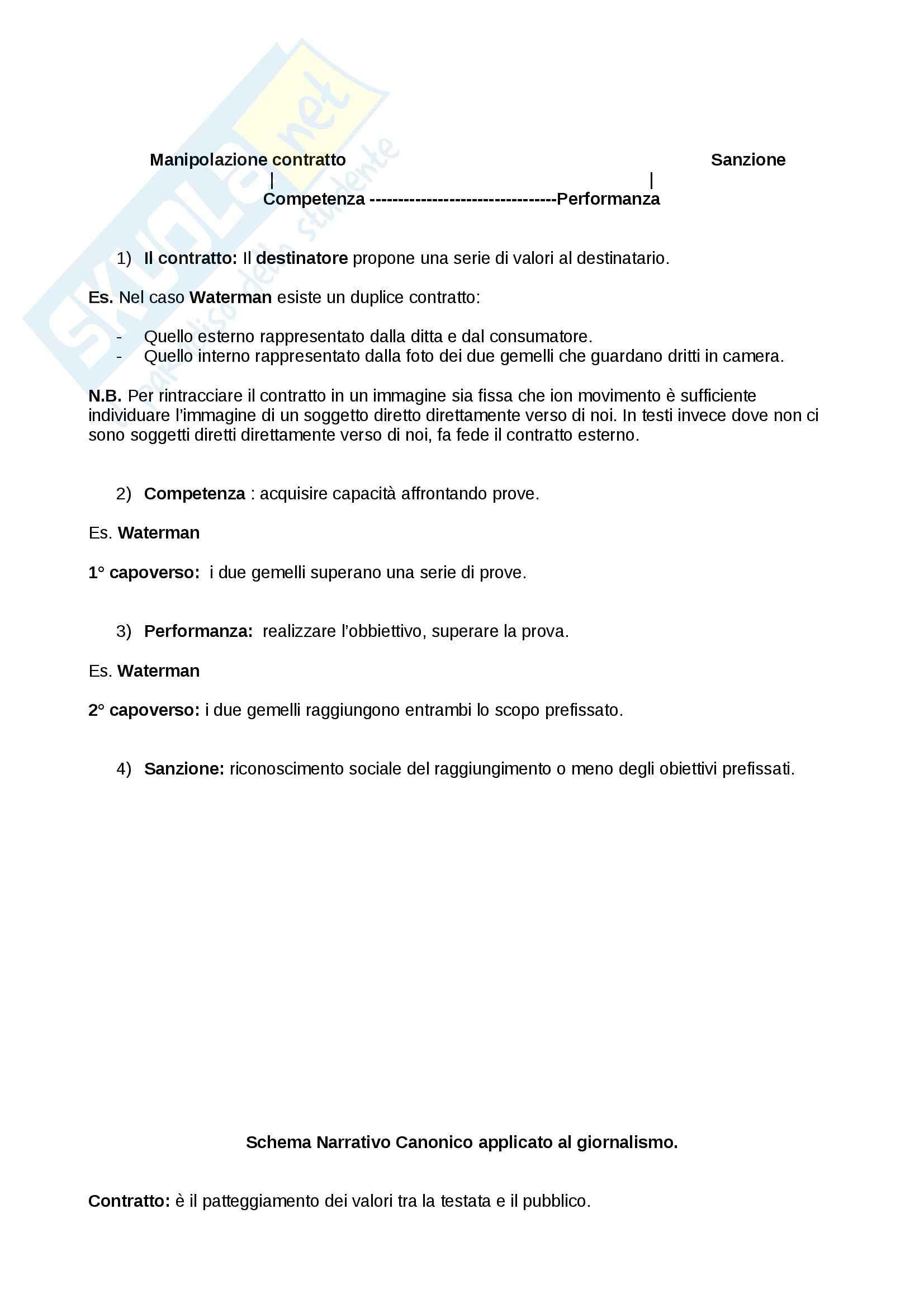 Teoria e semiotica della scrittura - Riassunto esame, prof. Zaganelli Pag. 2