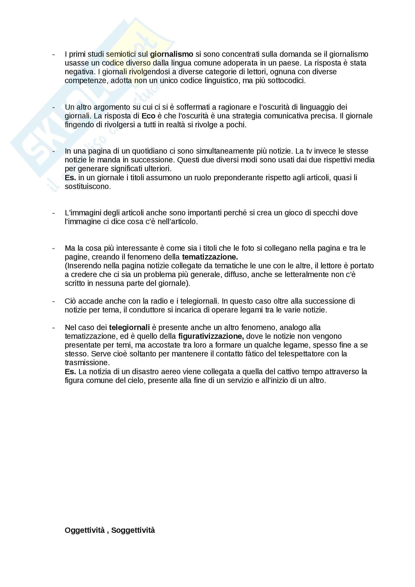 Teoria e semiotica della scrittura - Riassunto esame, prof. Zaganelli Pag. 21