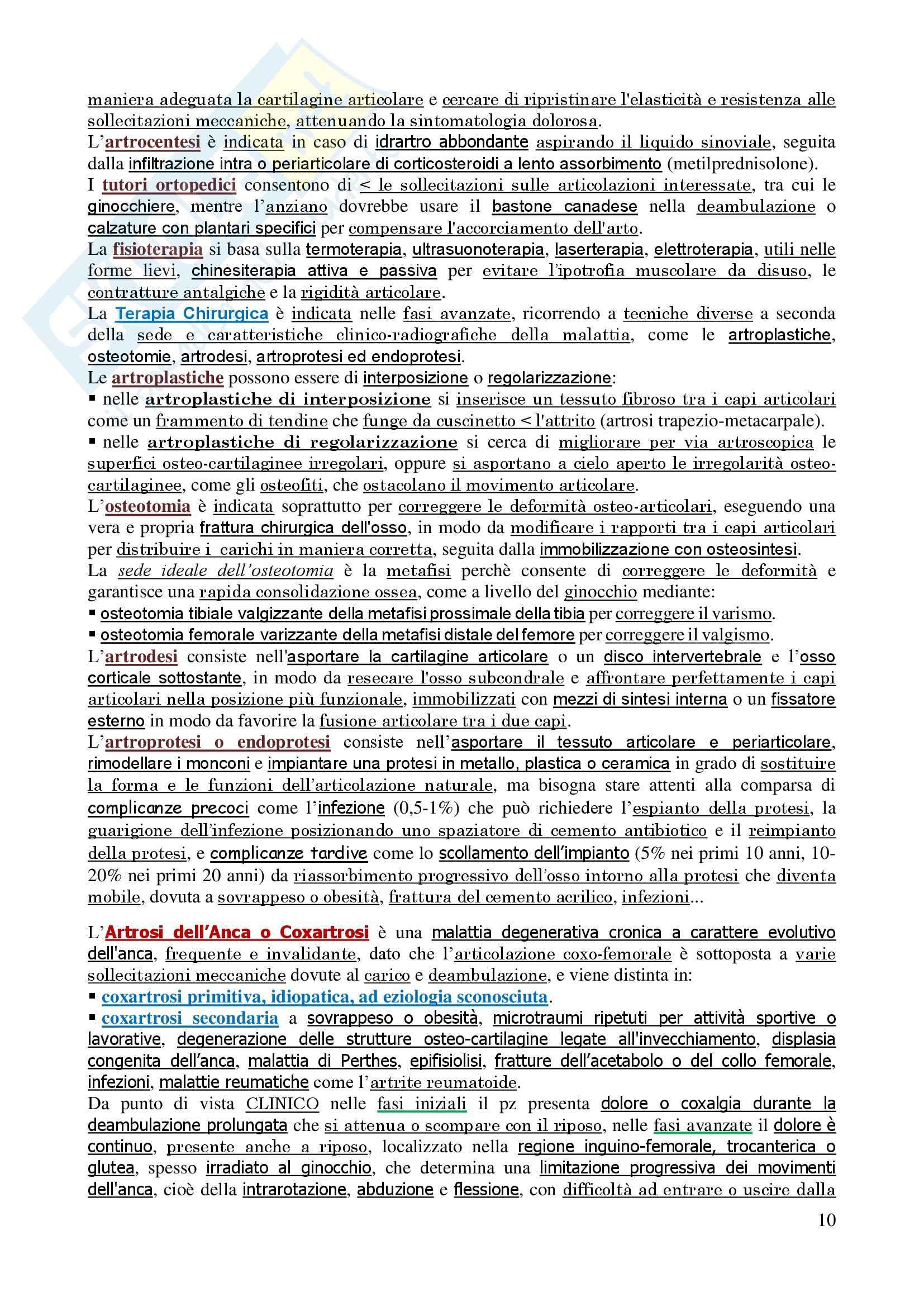 Malattie dell'apparato locomotore - Corso completo Pag. 11