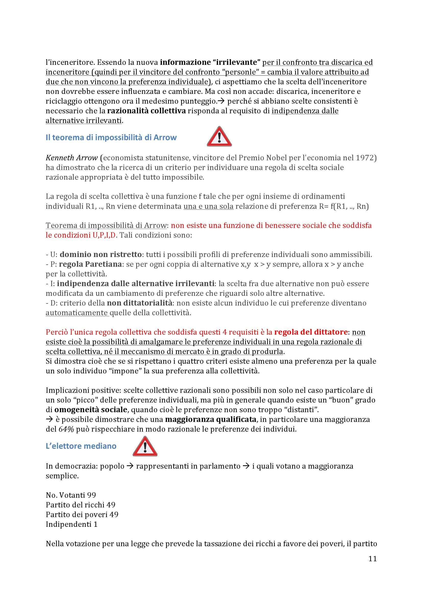 Politica Economica - Appunti (primo parziale) Pag. 11