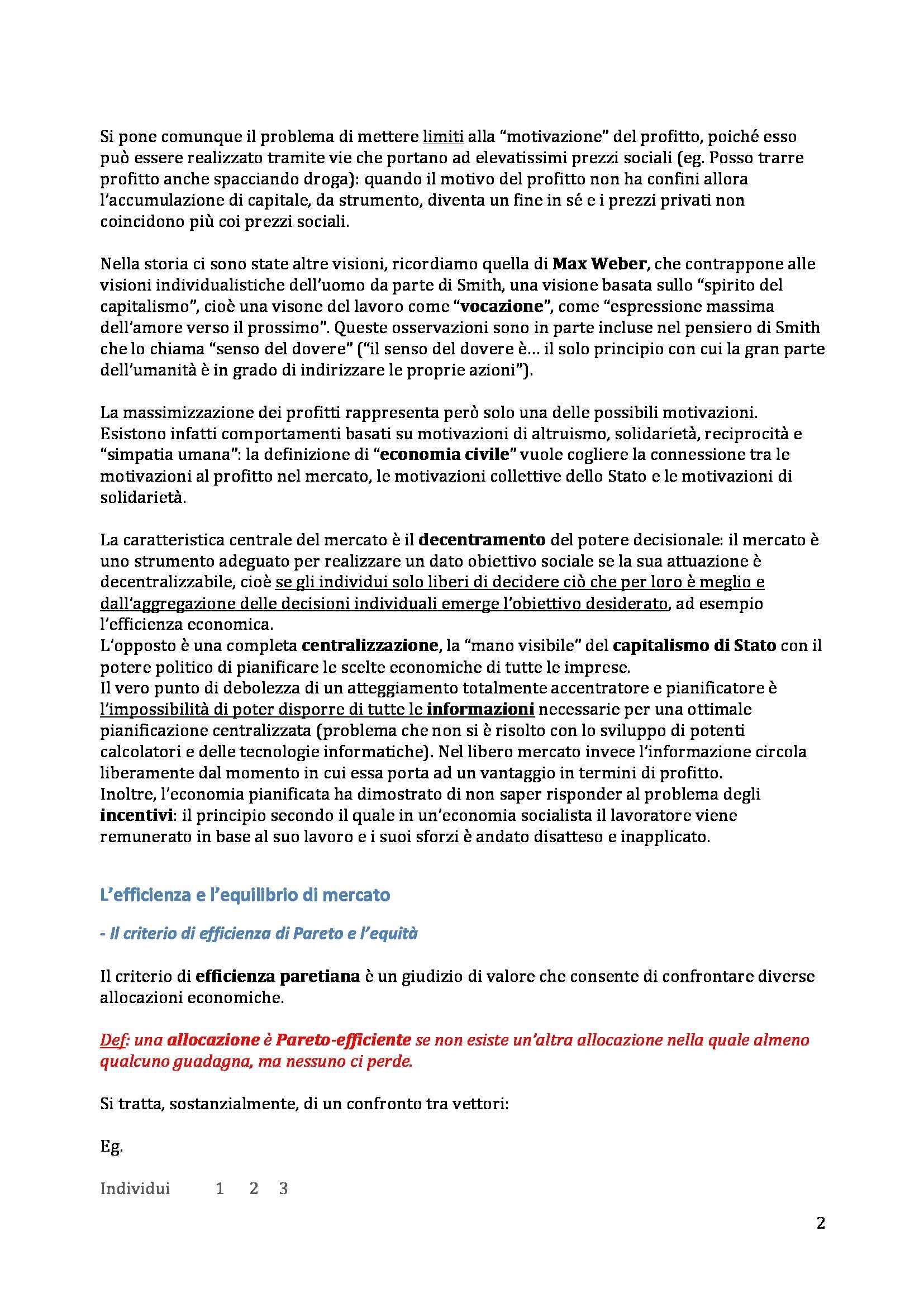 Politica Economica - Appunti (primo parziale) Pag. 2