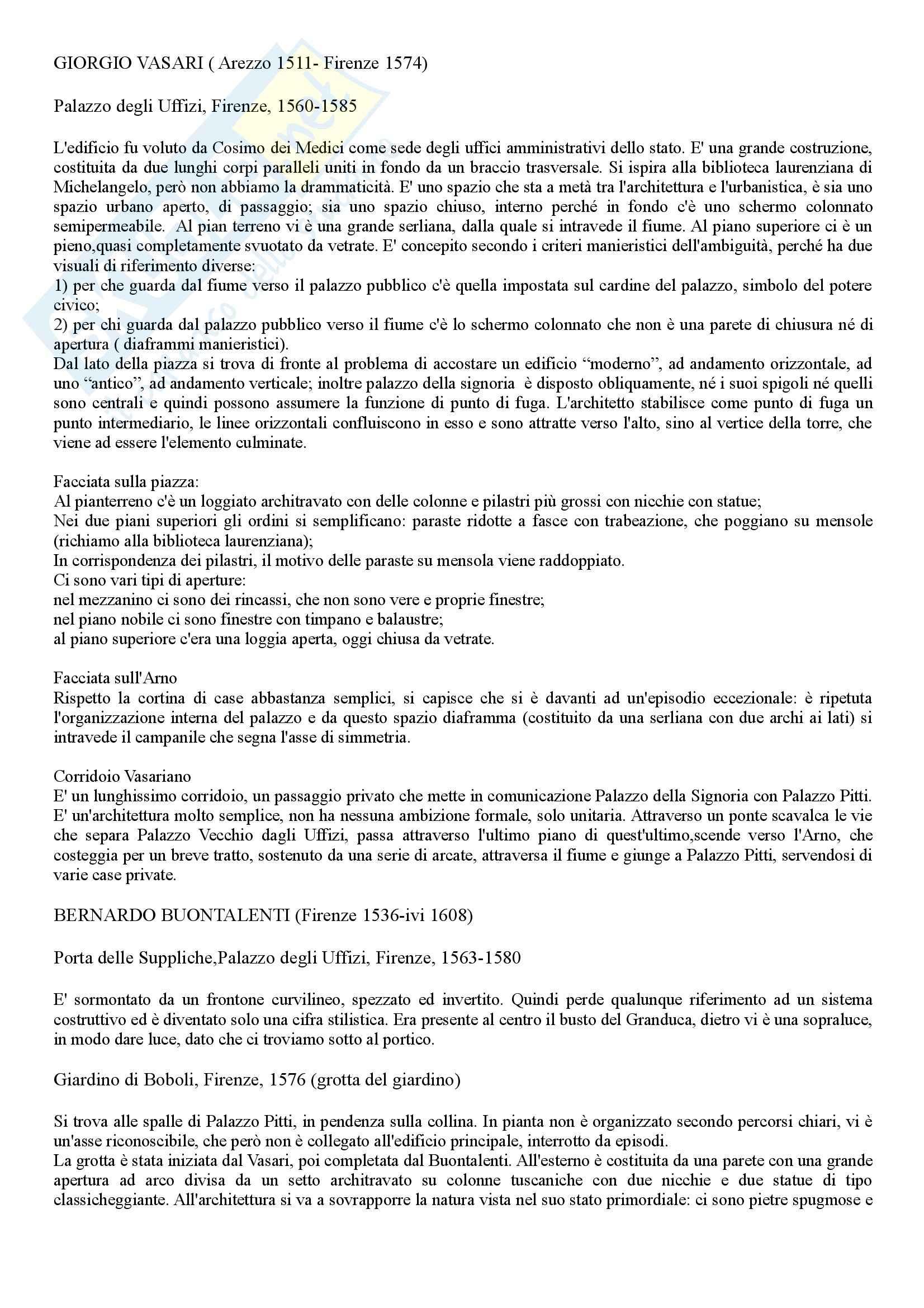 appunto A. Ghisetti Giavarina Storia dell'architettura