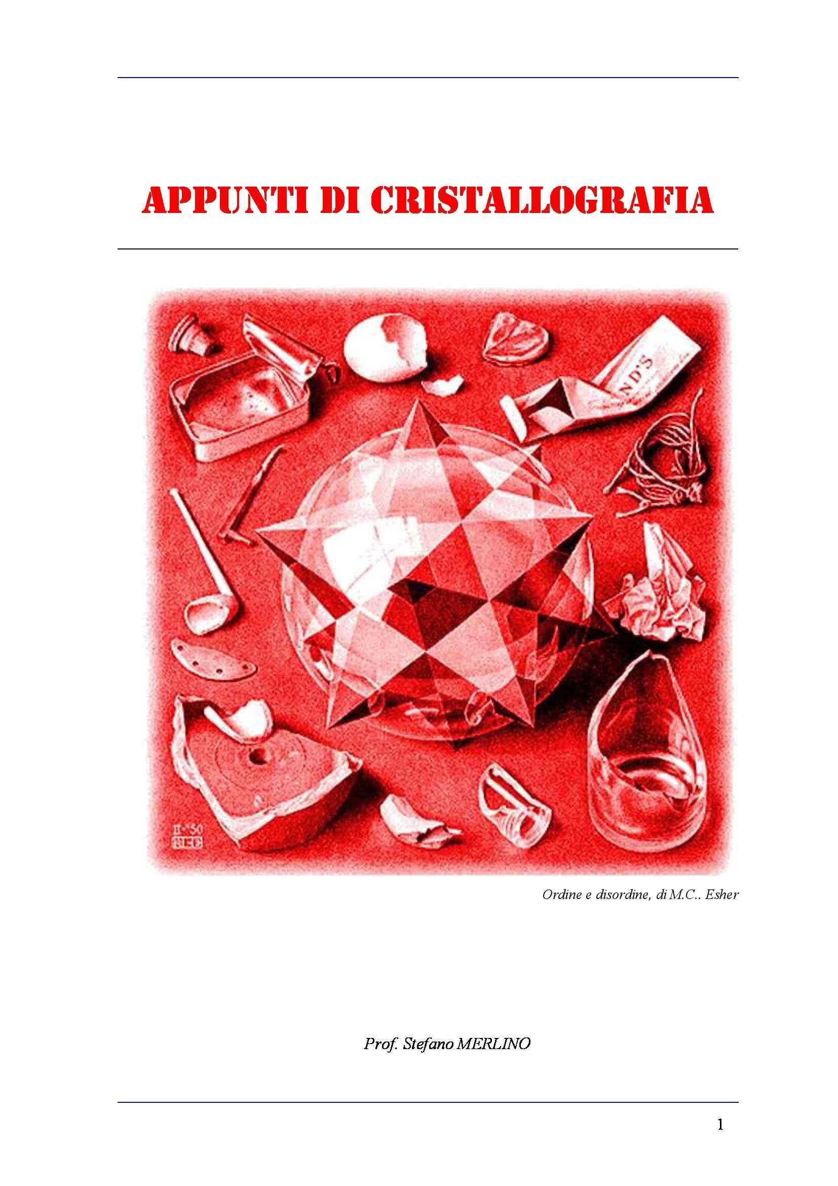 dispensa E. Bonaccorsi Cristallografia
