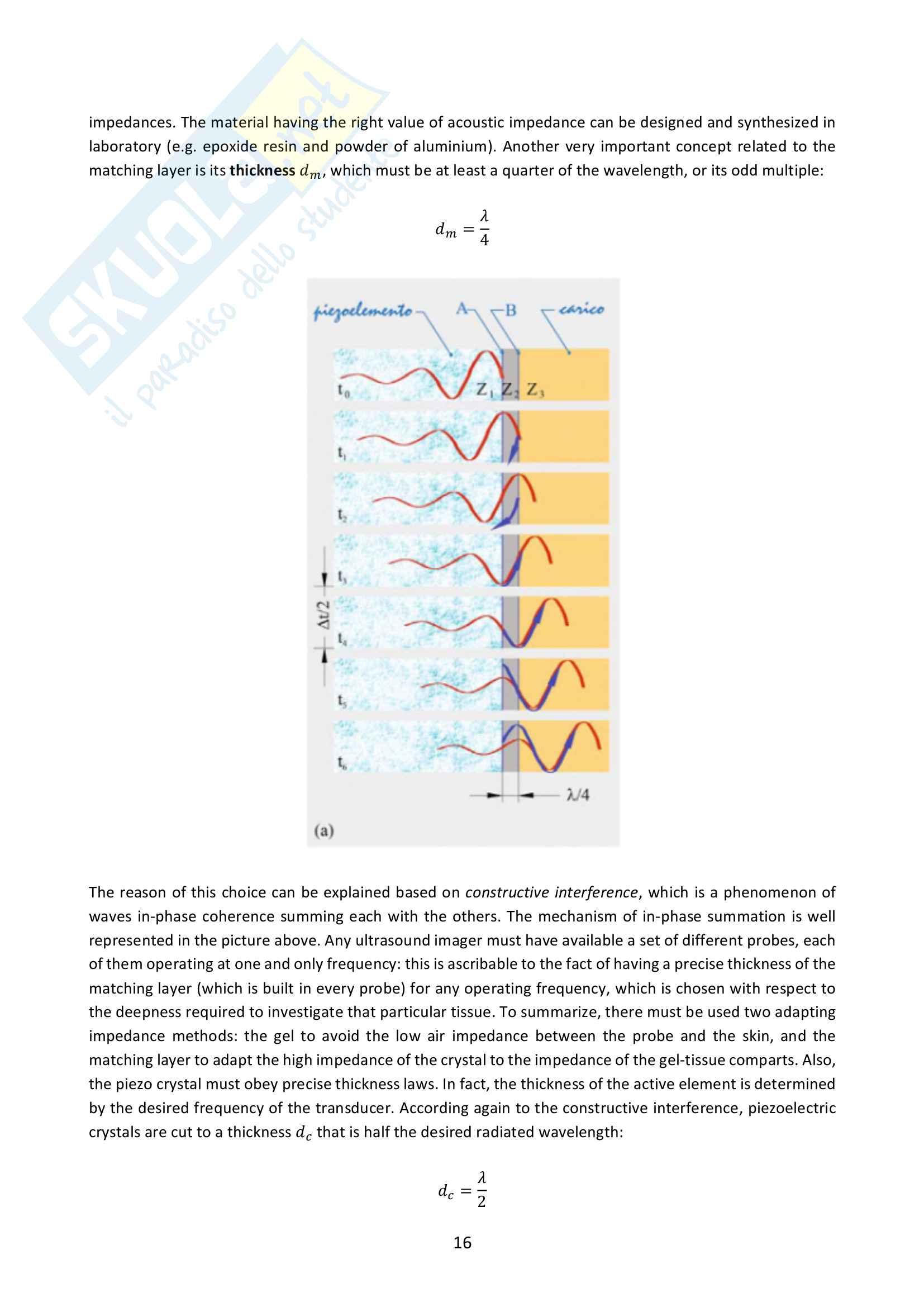 Applied measurement techniques Pag. 16
