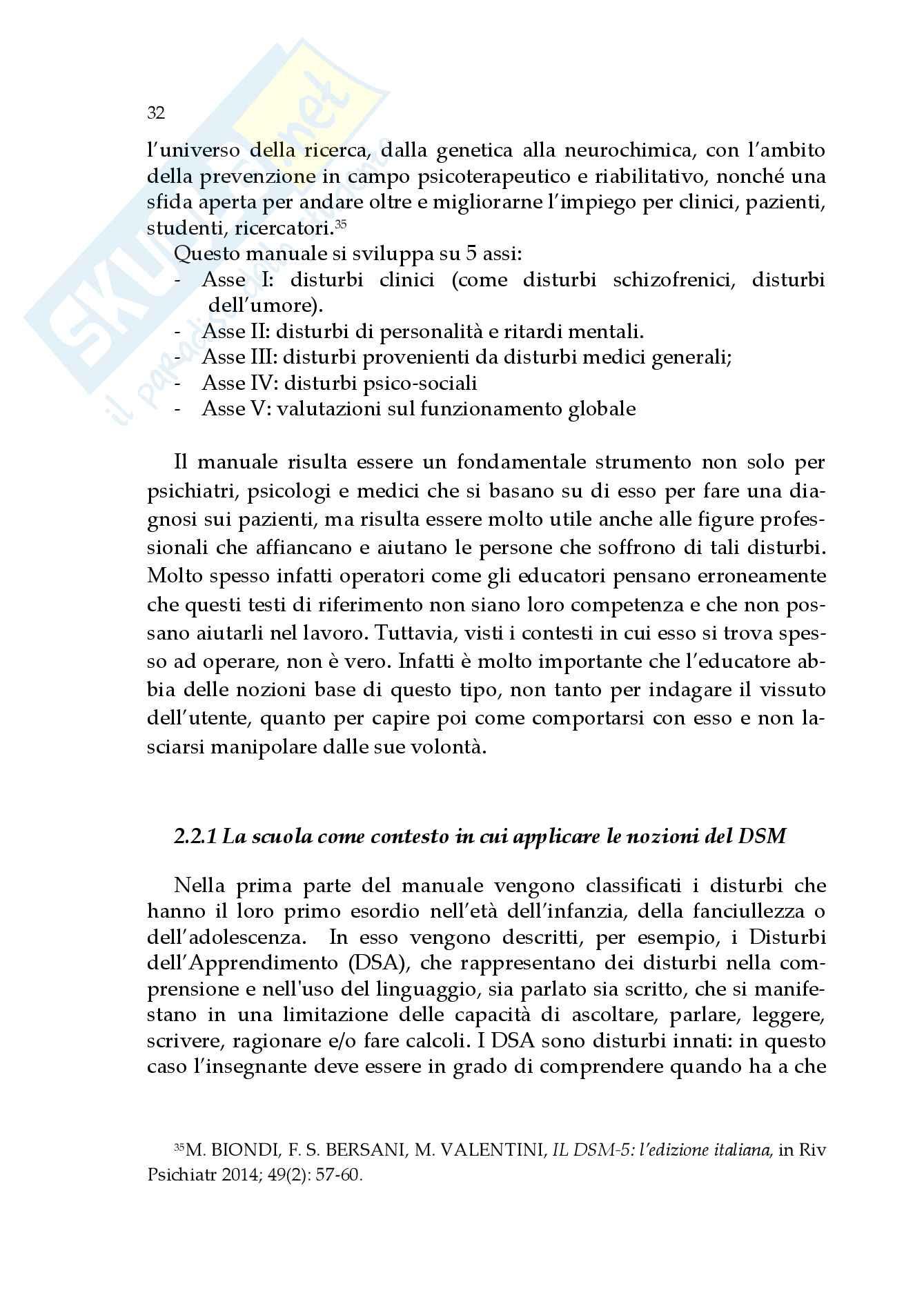 L'educatore professionale nella relazione con i pazienti psichiatrici, Tesi Pag. 36