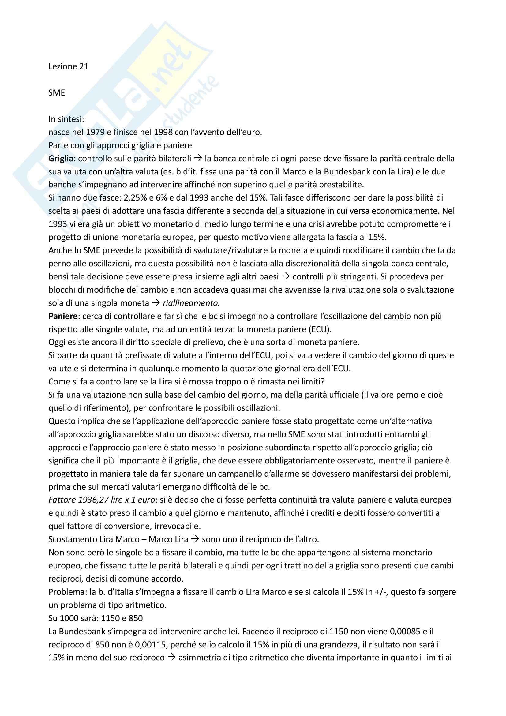 appunto R. De Battistini Economia mondiale