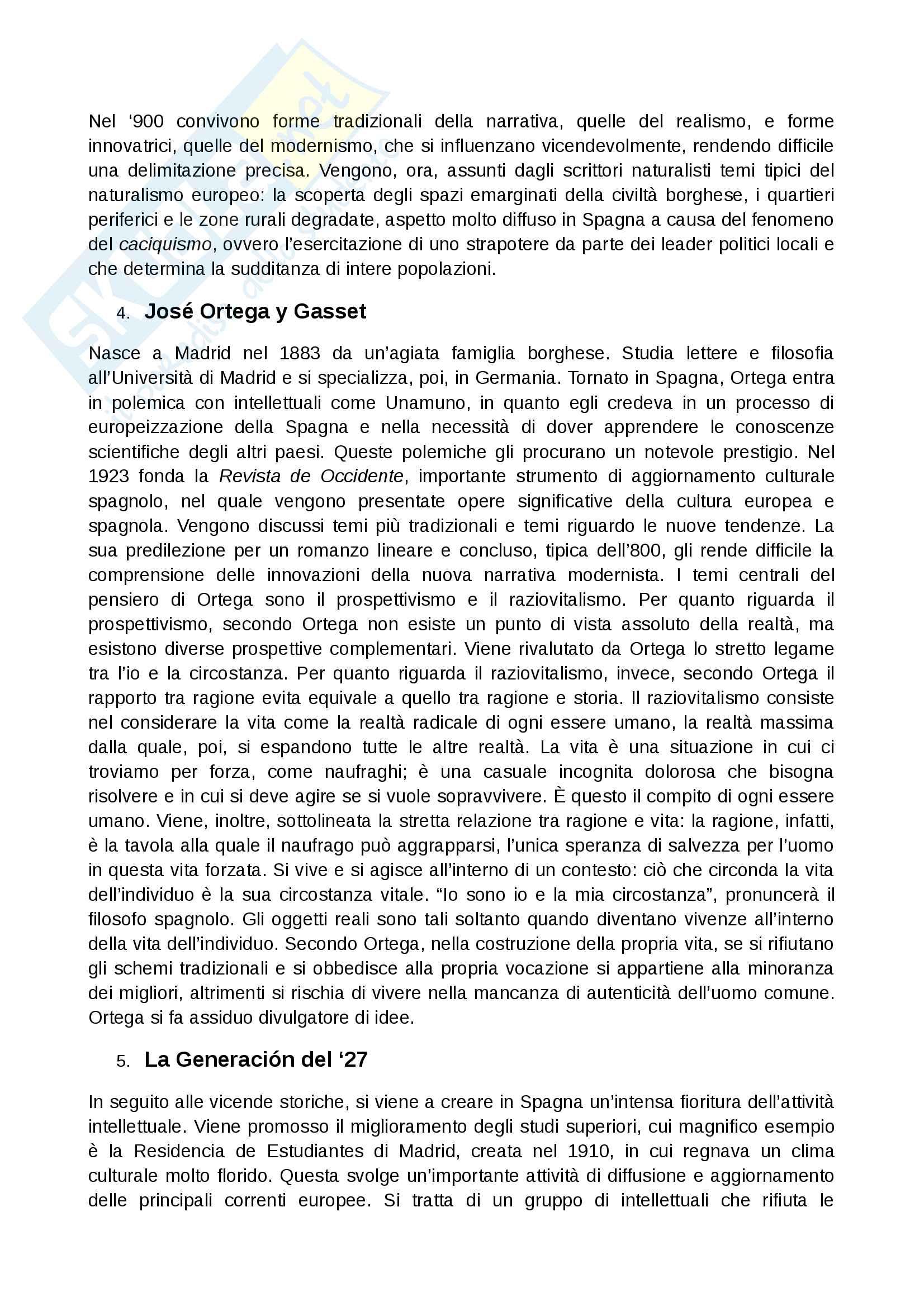 Contesto storico 900 spagnolo Pag. 11
