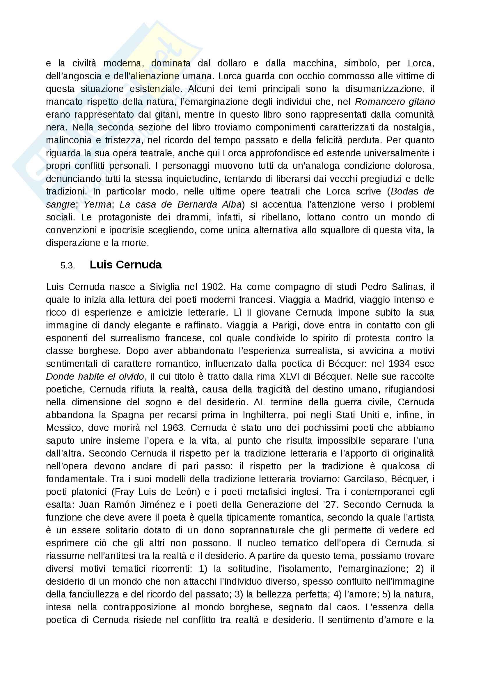 Contesto storico 900 spagnolo Pag. 16