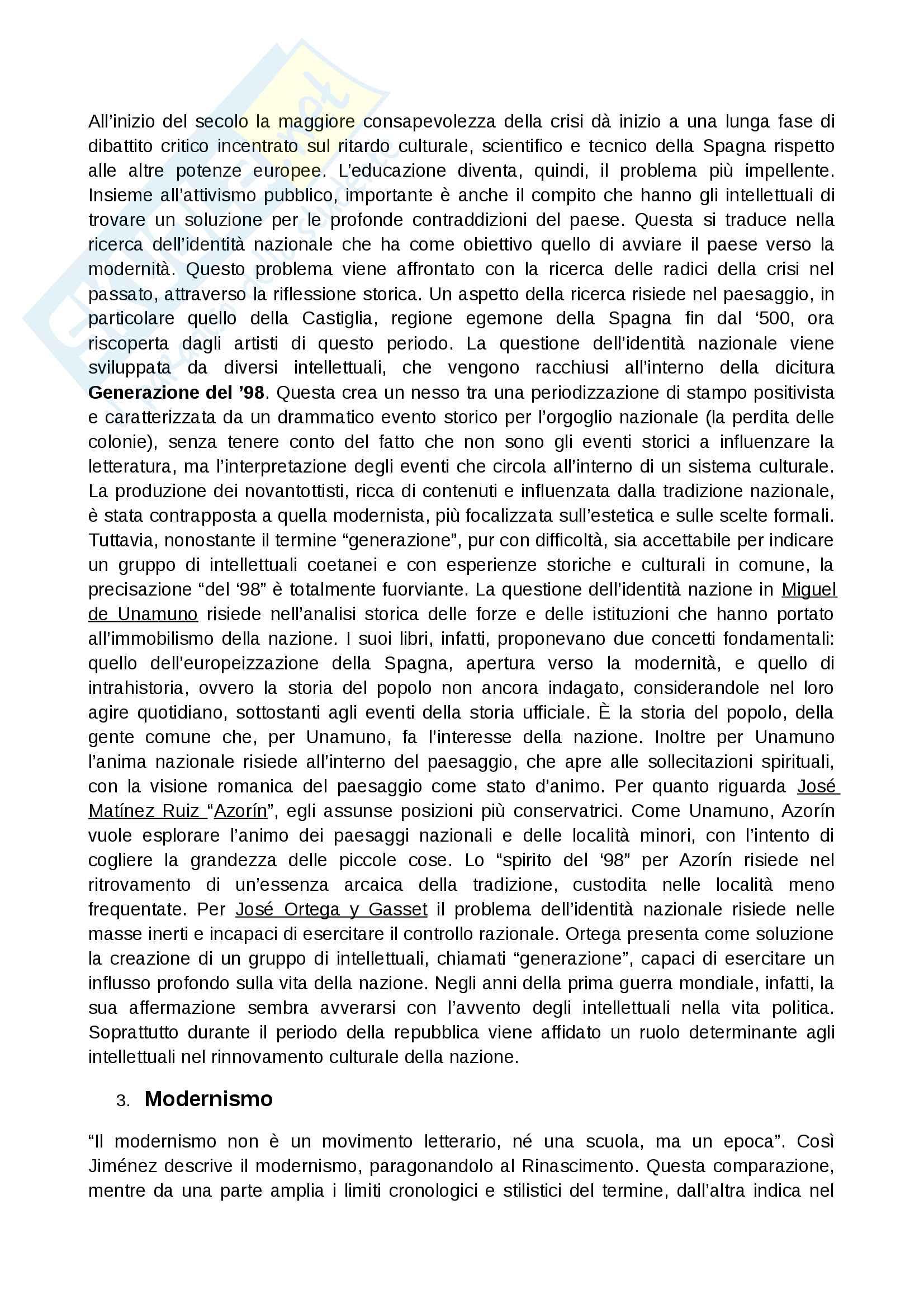 Contesto storico 900 spagnolo Pag. 2