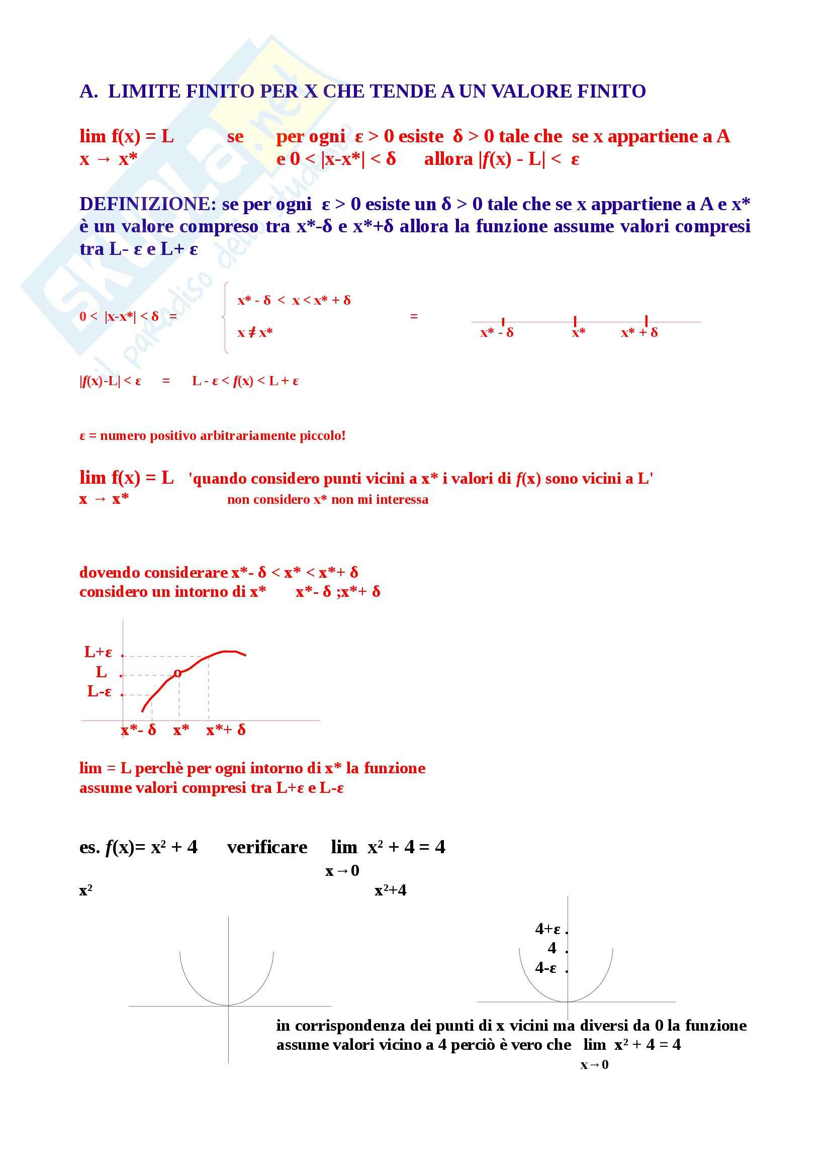 Lezioni, Matematica generale