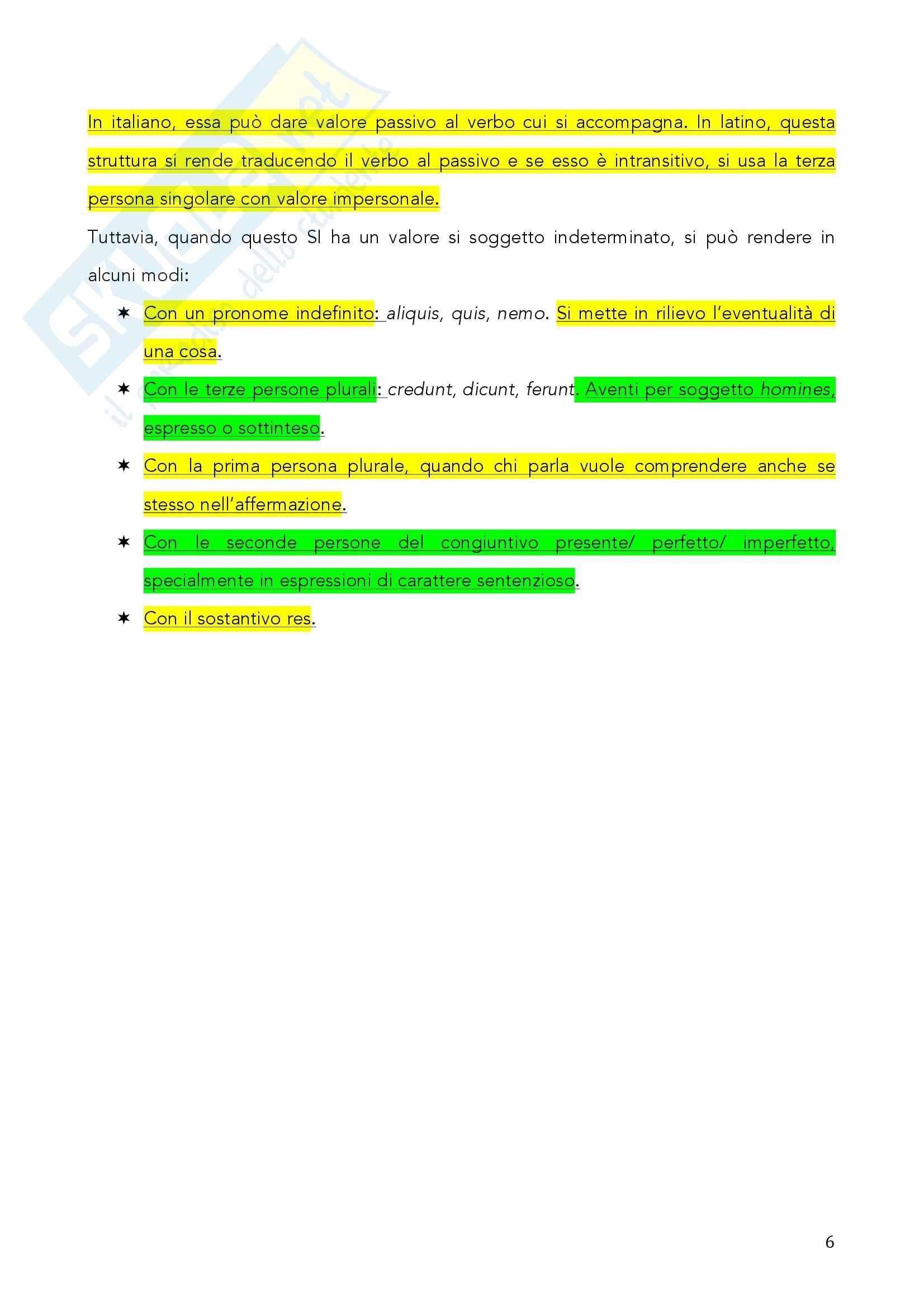 Grammatica latina - nominativo: sintassi dei casi Pag. 6