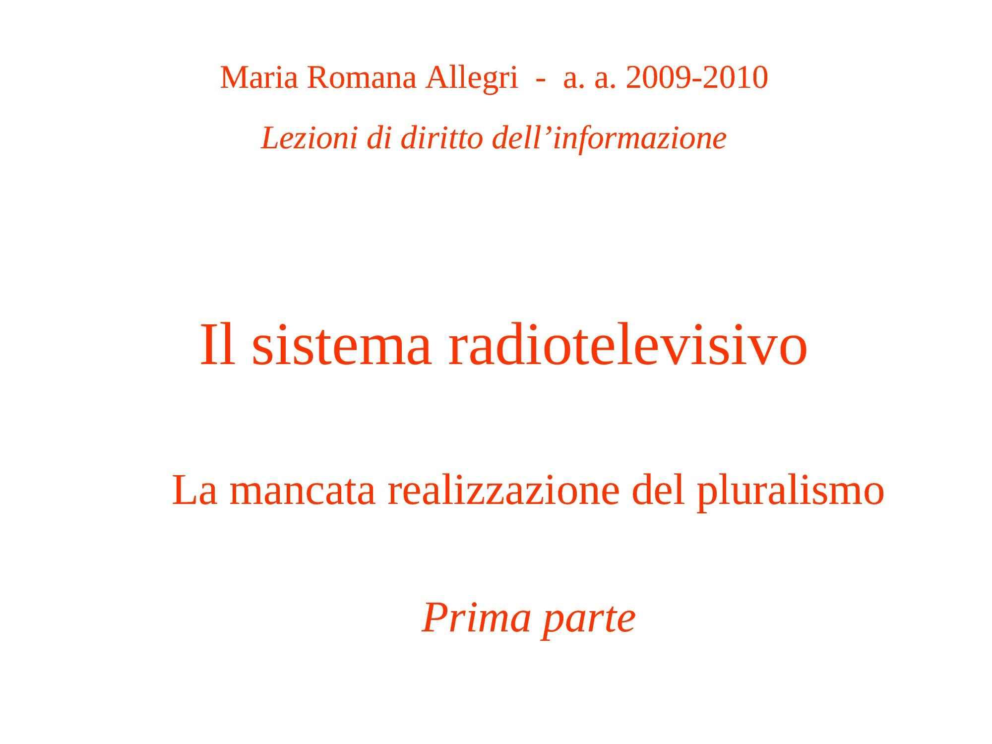Sistema Radiotelevisivo