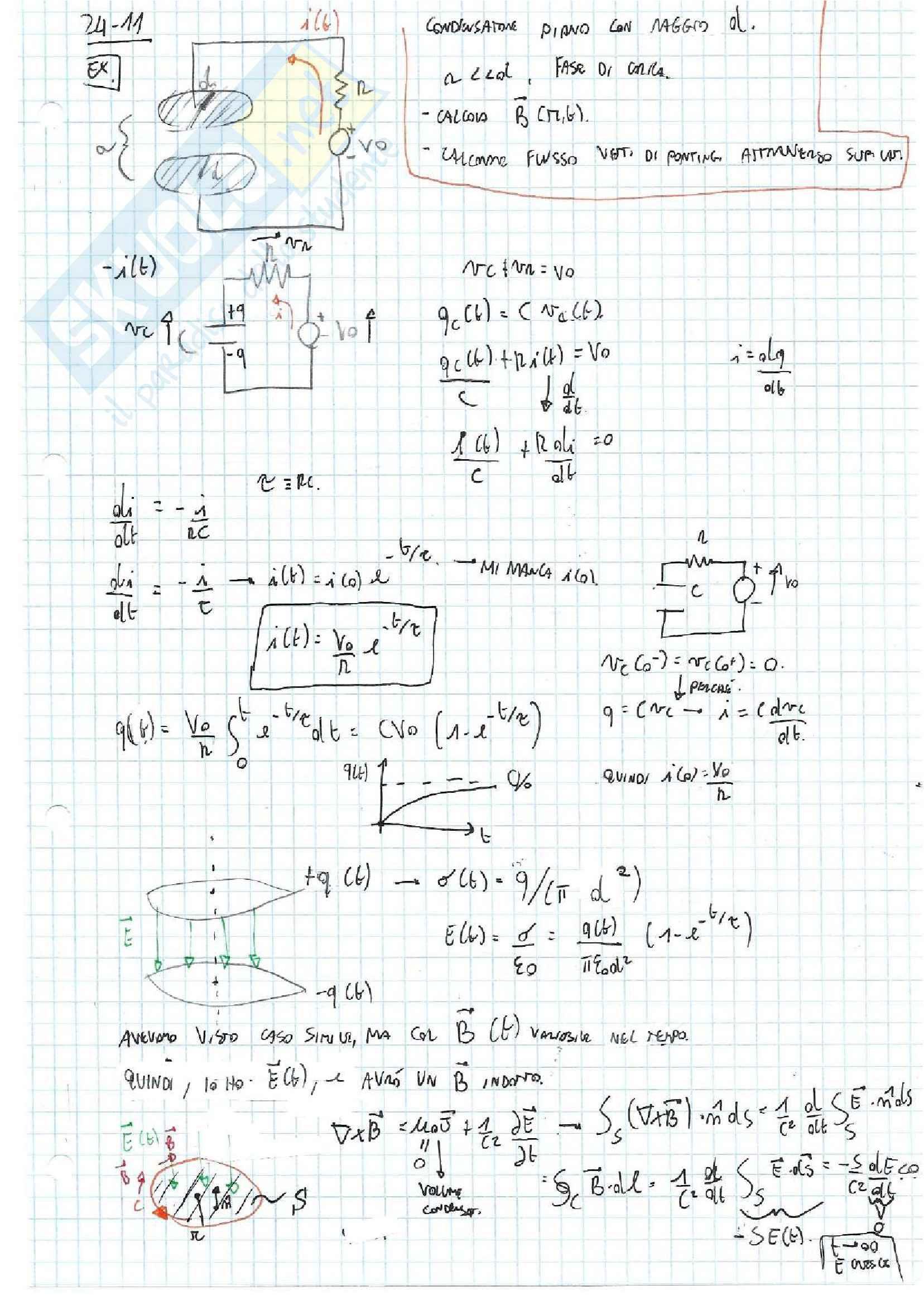 Appunti ed Esercizi Fisica 2 Pag. 101