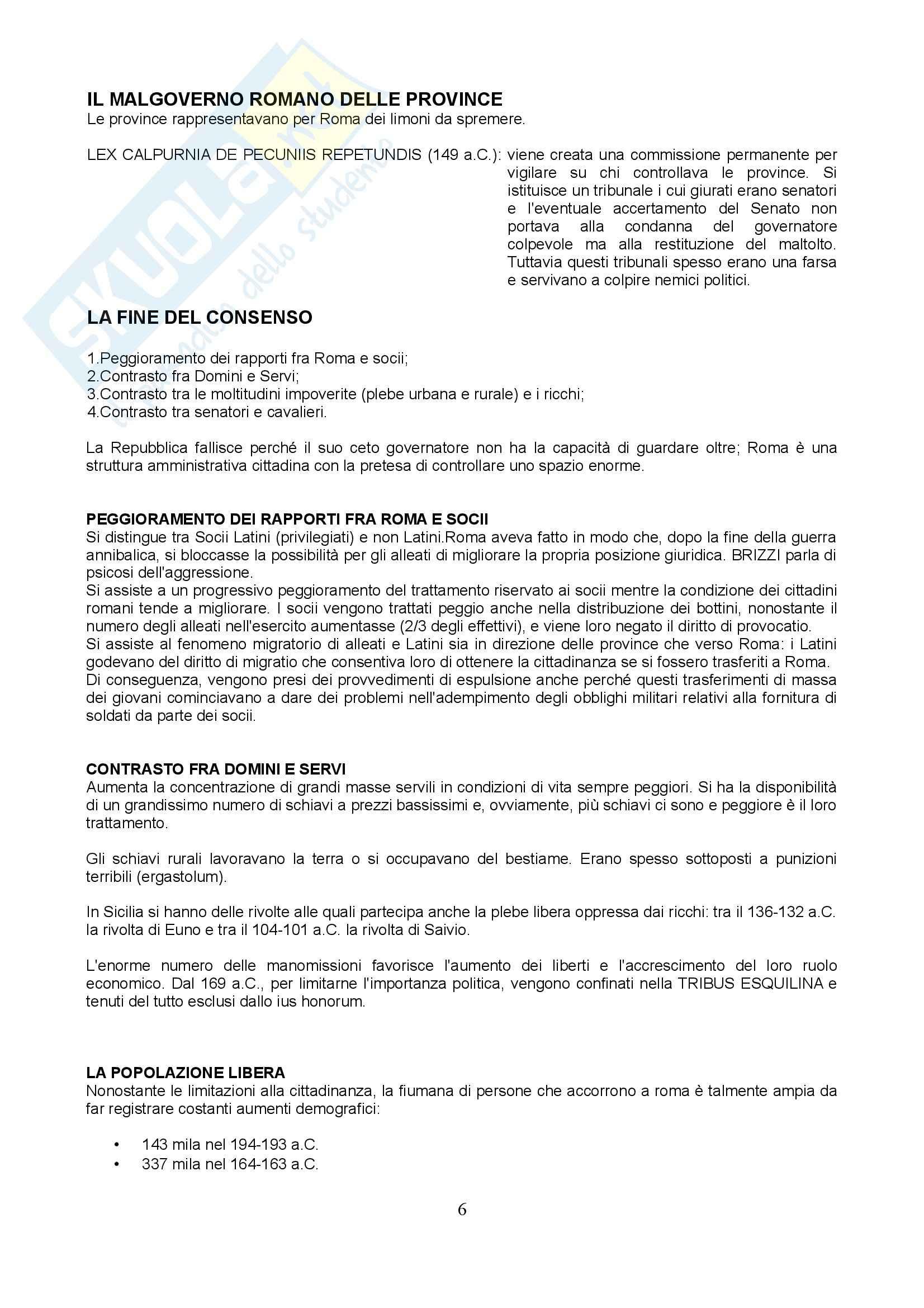 Storia romana 2 - Lucio Cornelio Silla Pag. 6