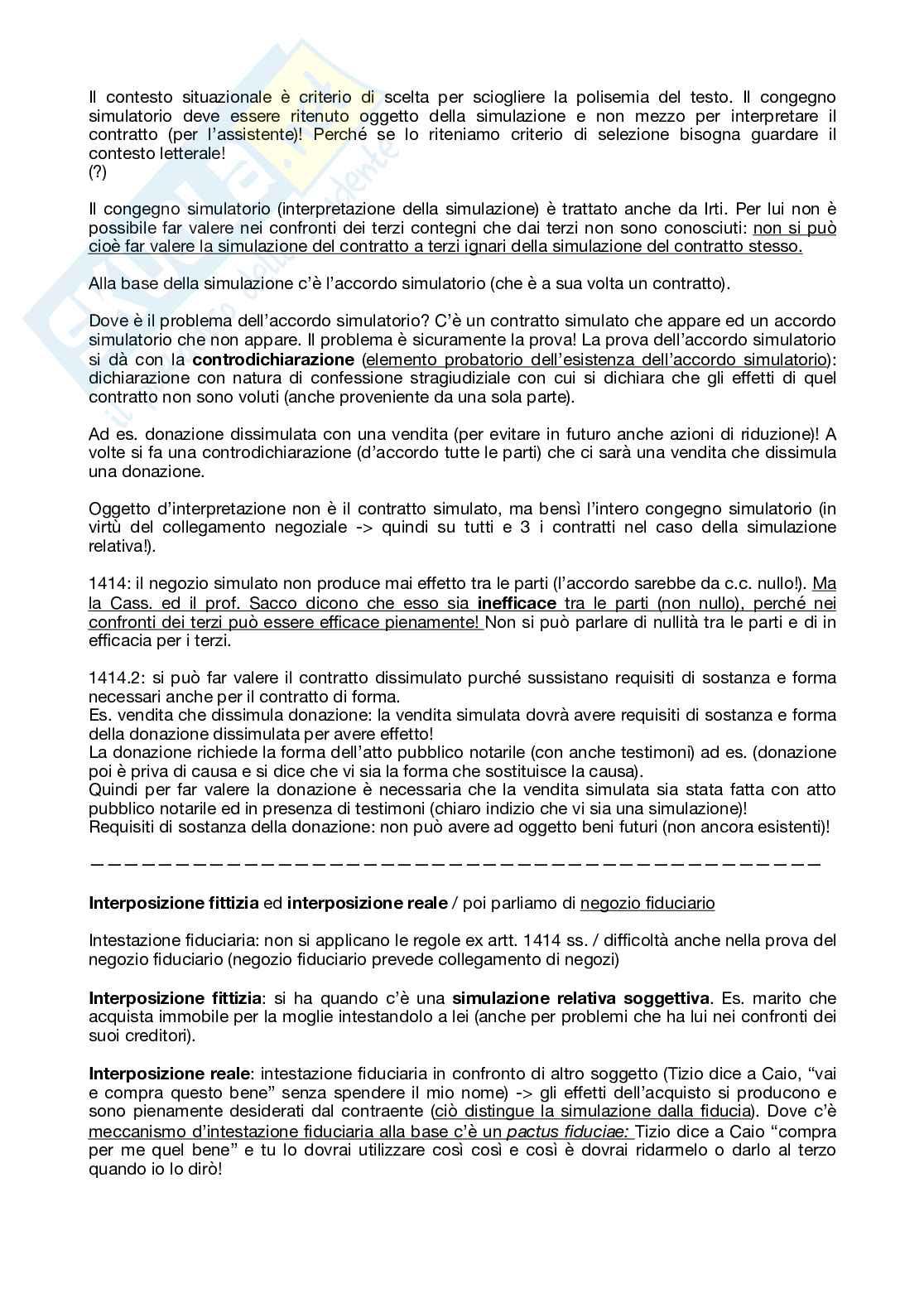Appunti di Diritto Civile I (corso di Mauro Orlandi) Pag. 56