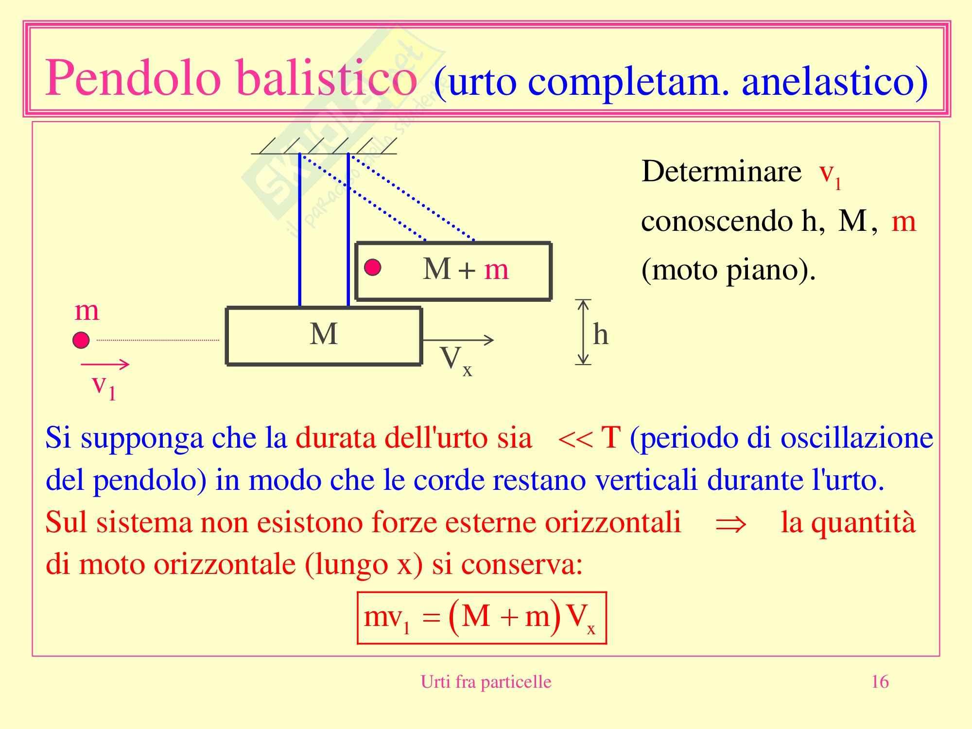 Fisica medica - urti fra particelle Pag. 16