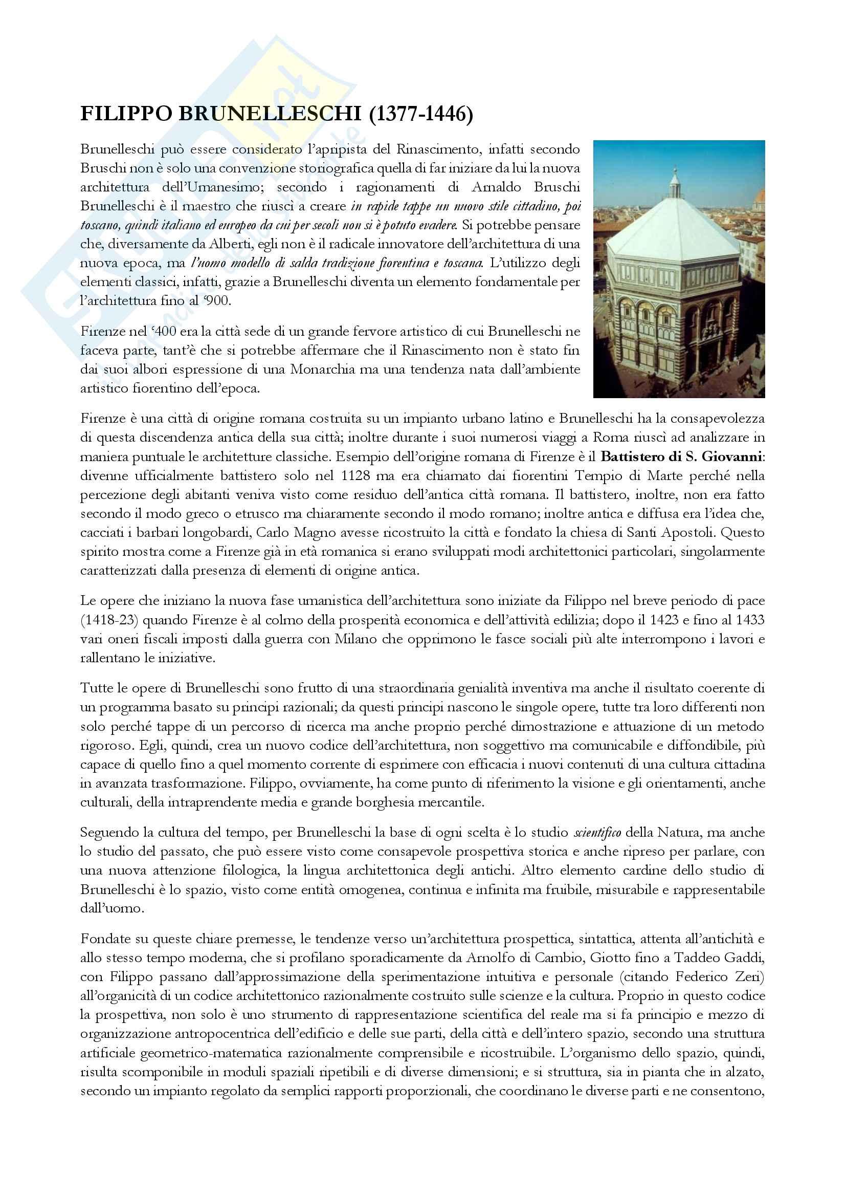 Appunti storia architettura moderna, Cornaglia