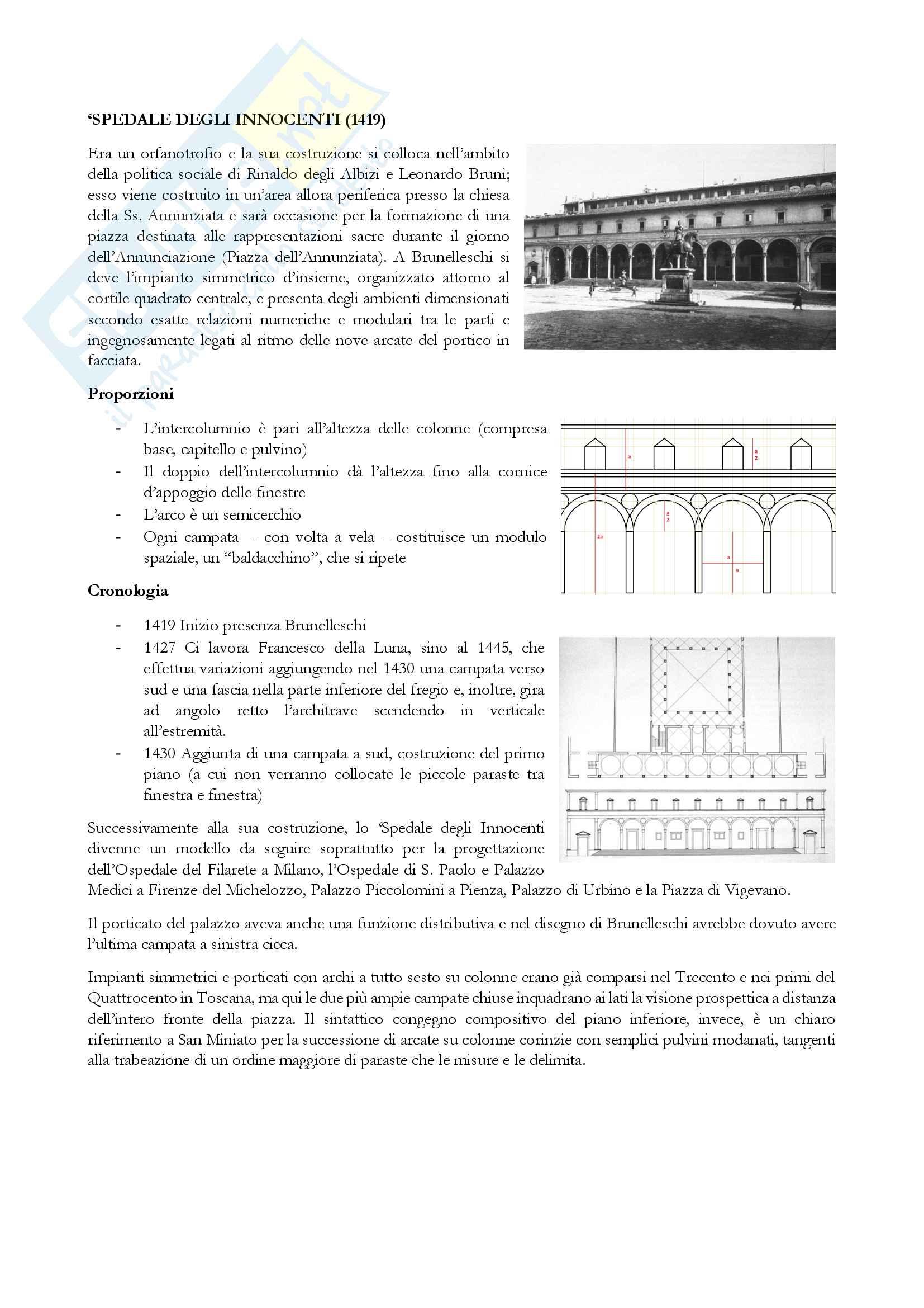 Appunti storia architettura moderna, Cornaglia Pag. 6