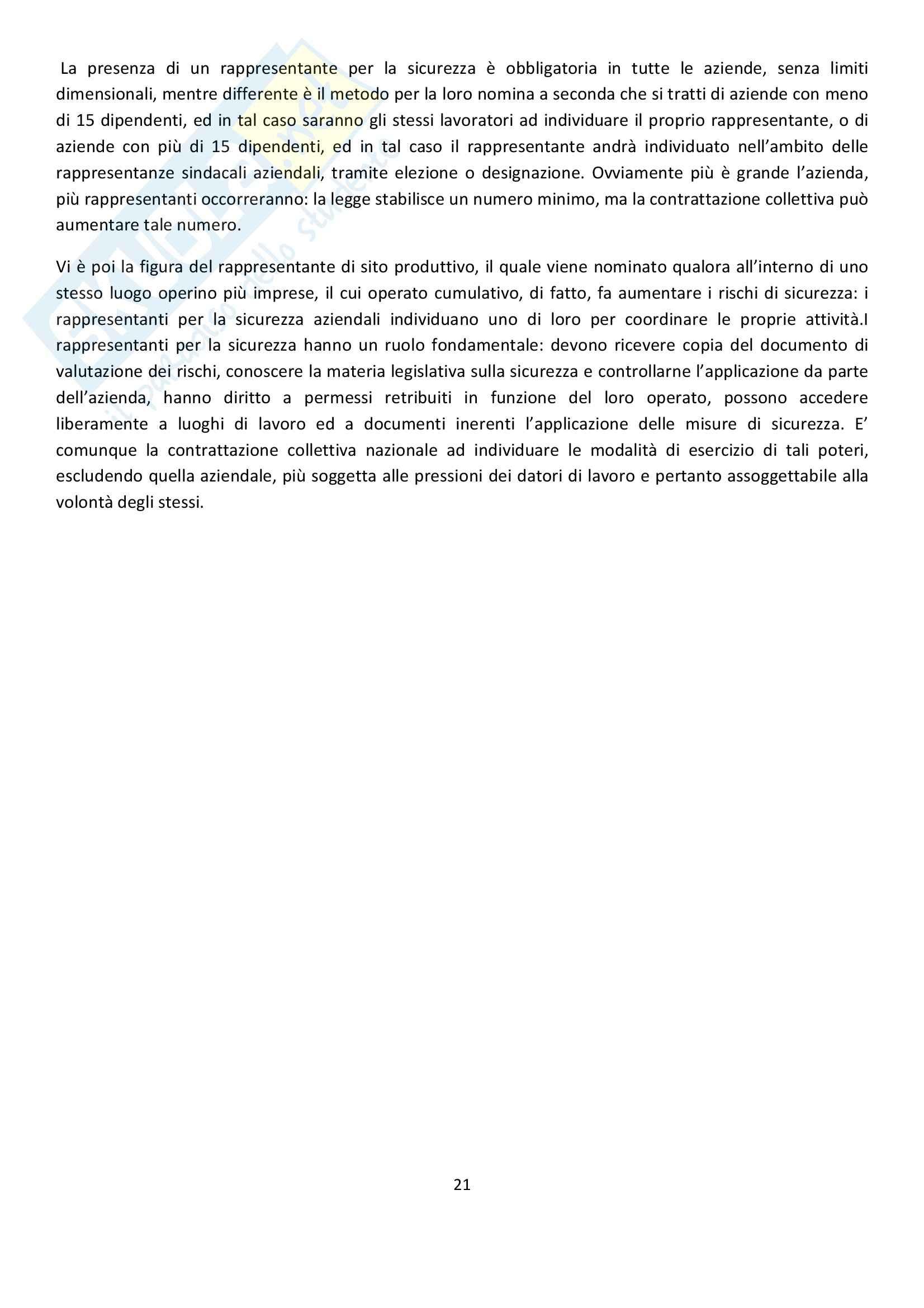 Riassunto esame Diritto del Lavoro, prof. Ghera, libro consigliato Diritto Sindacale, Giugni Pag. 21