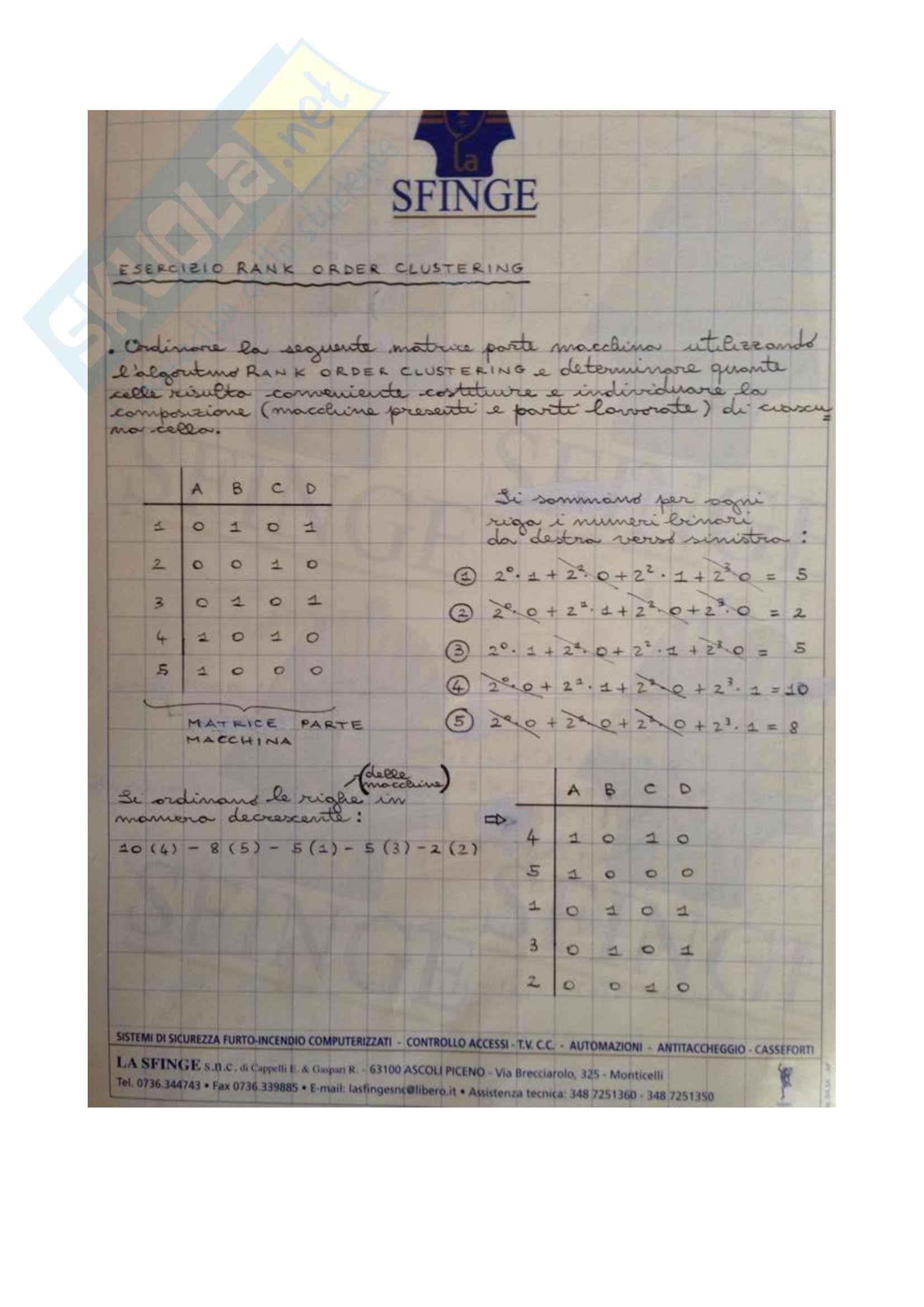 Esercizi Impianti meccanici dell'esame Pag. 11