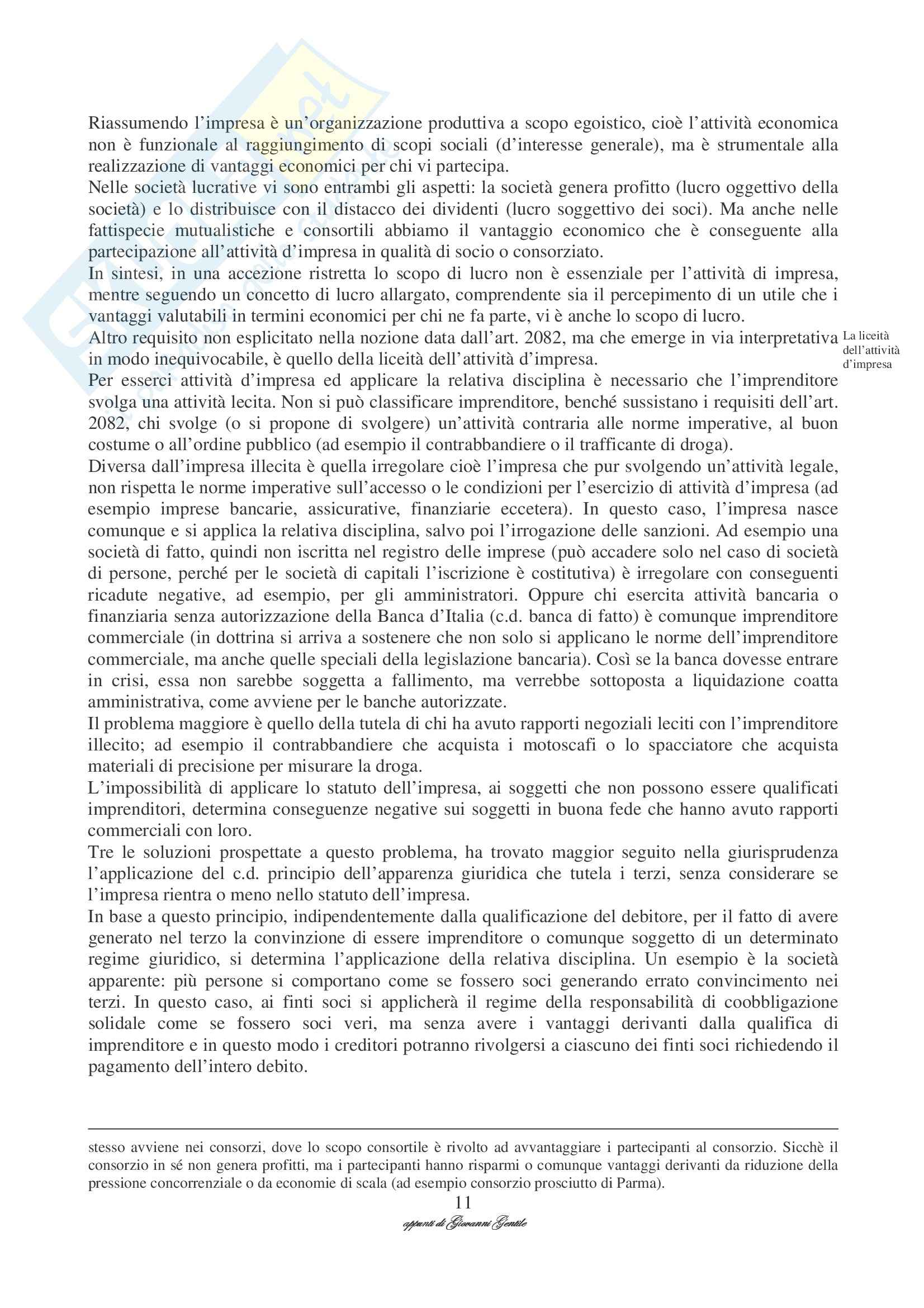 Diritto Commerciale I Pag. 11