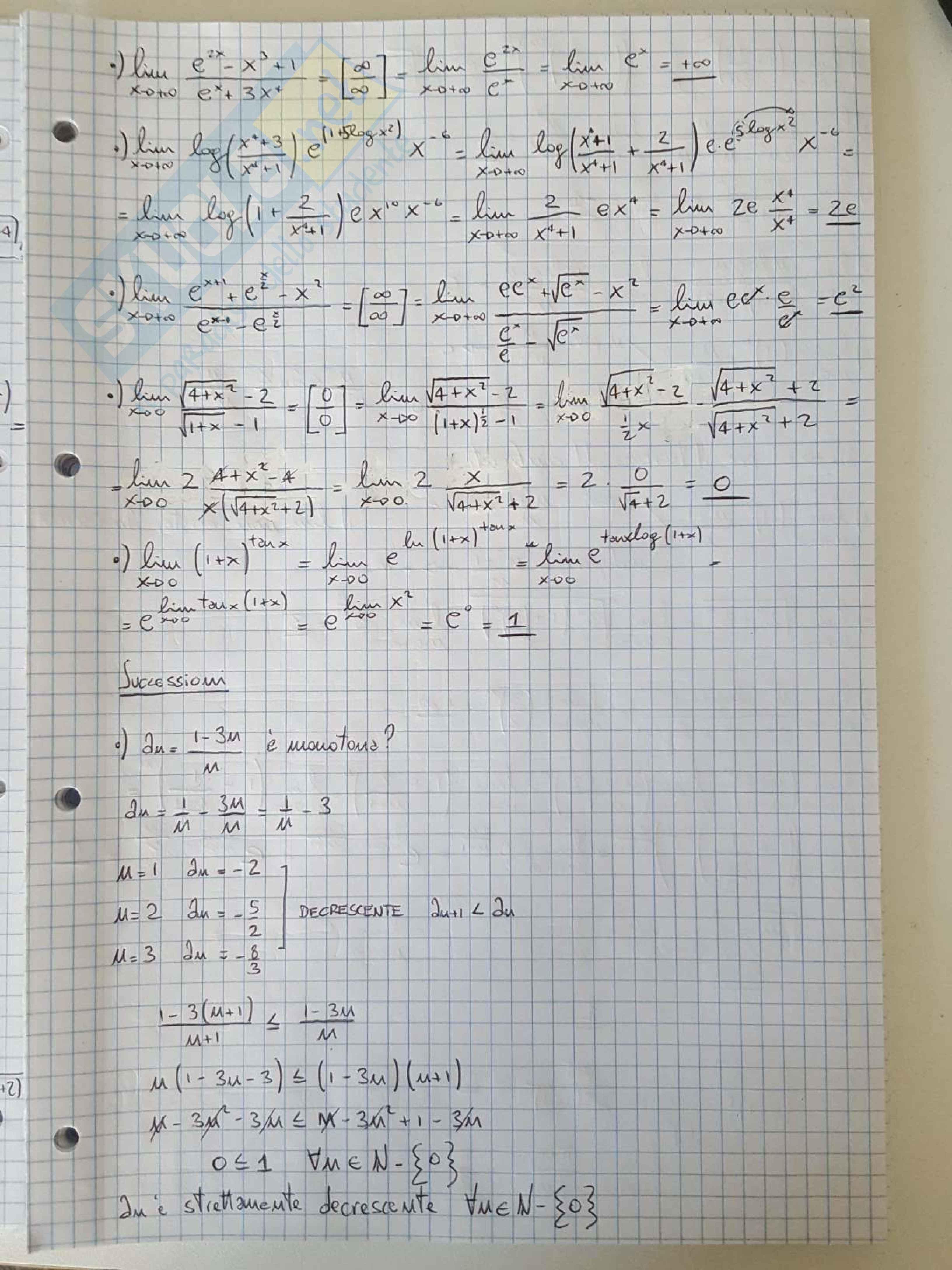 Appunti di Analisi e Geometria 1 - Esercitazione Pag. 31