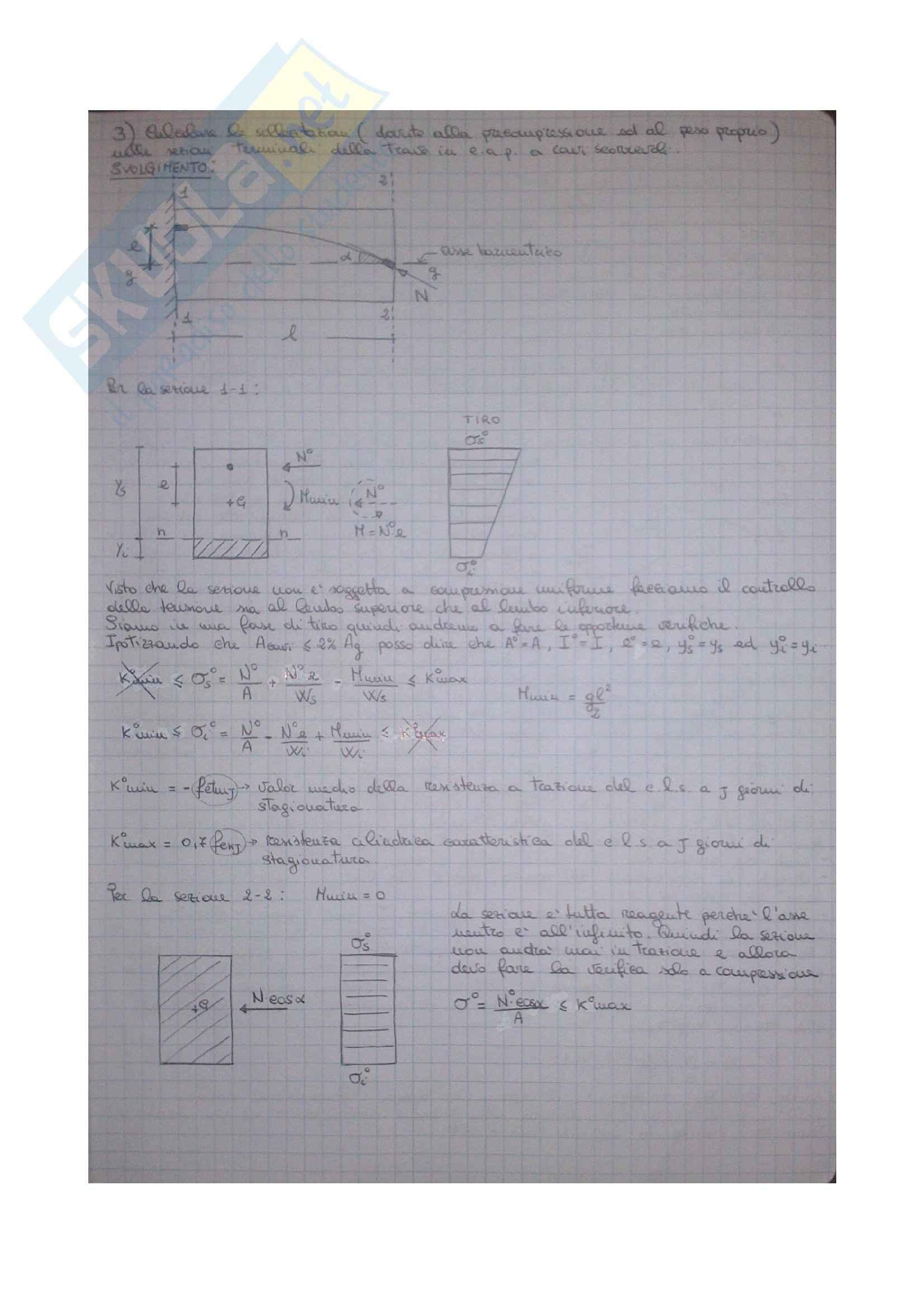 Esercizi Tecnica delle Costruzioni 1 Pag. 11