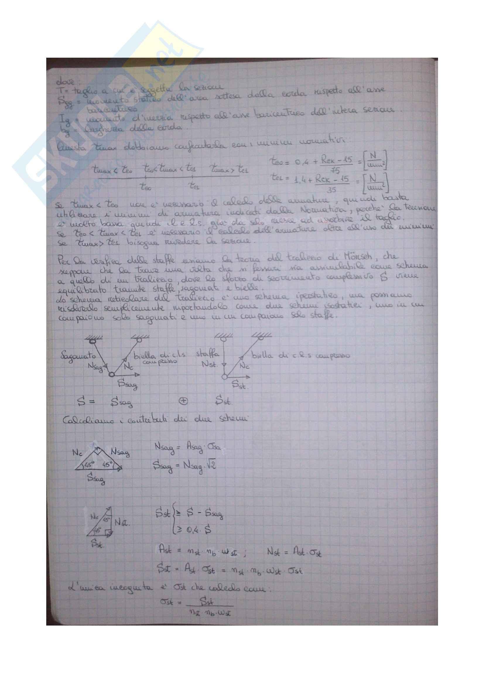 Esercizi Tecnica delle Costruzioni 1 Pag. 16