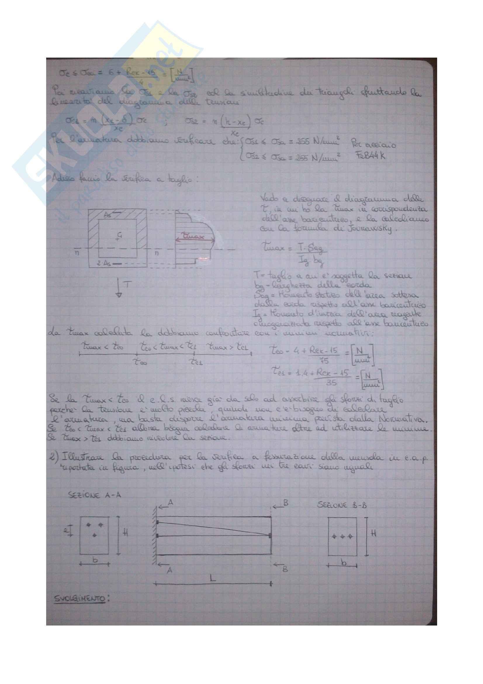 Esercizi Tecnica delle Costruzioni 1 Pag. 21
