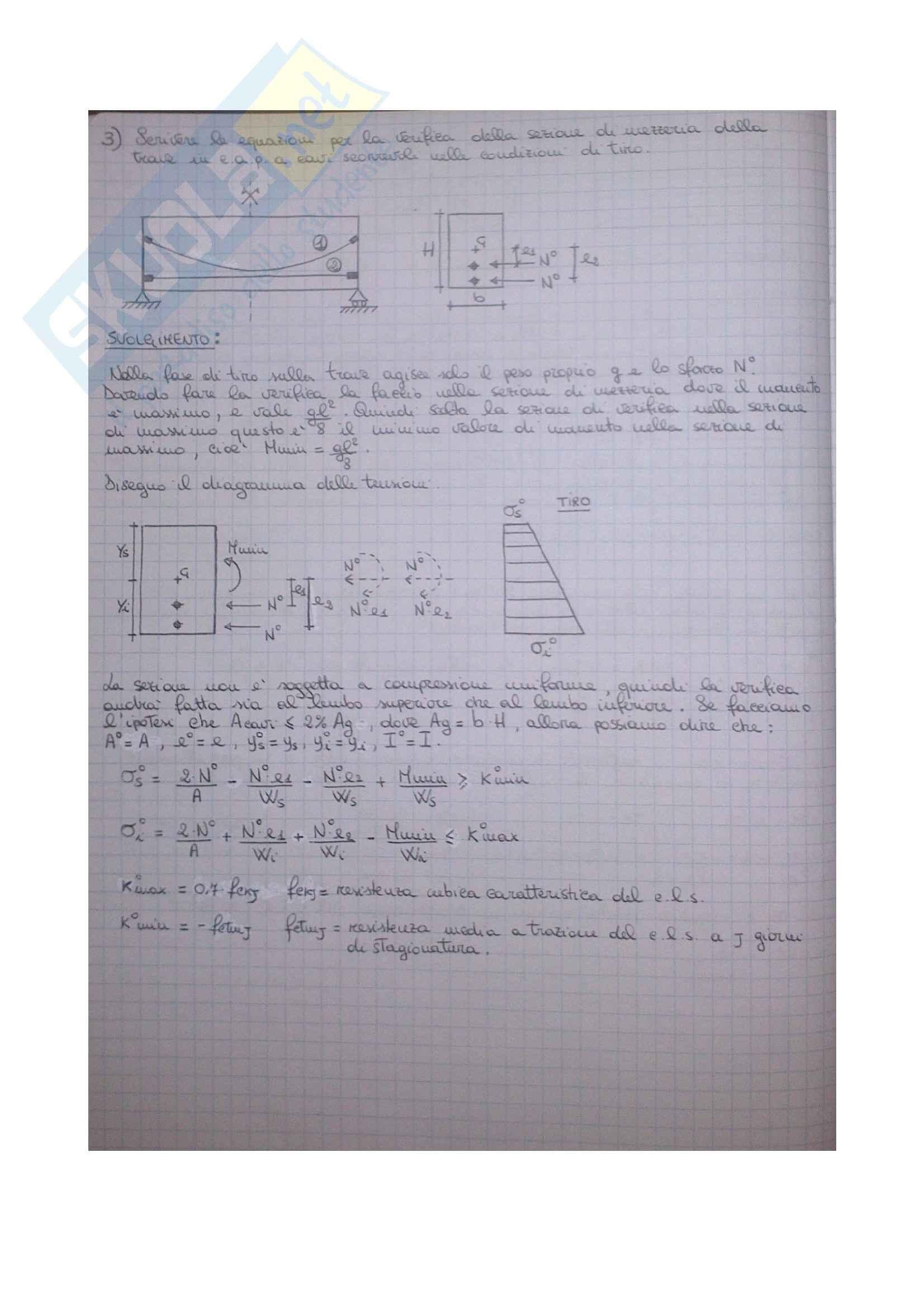 Esercizi Tecnica delle Costruzioni 1 Pag. 36