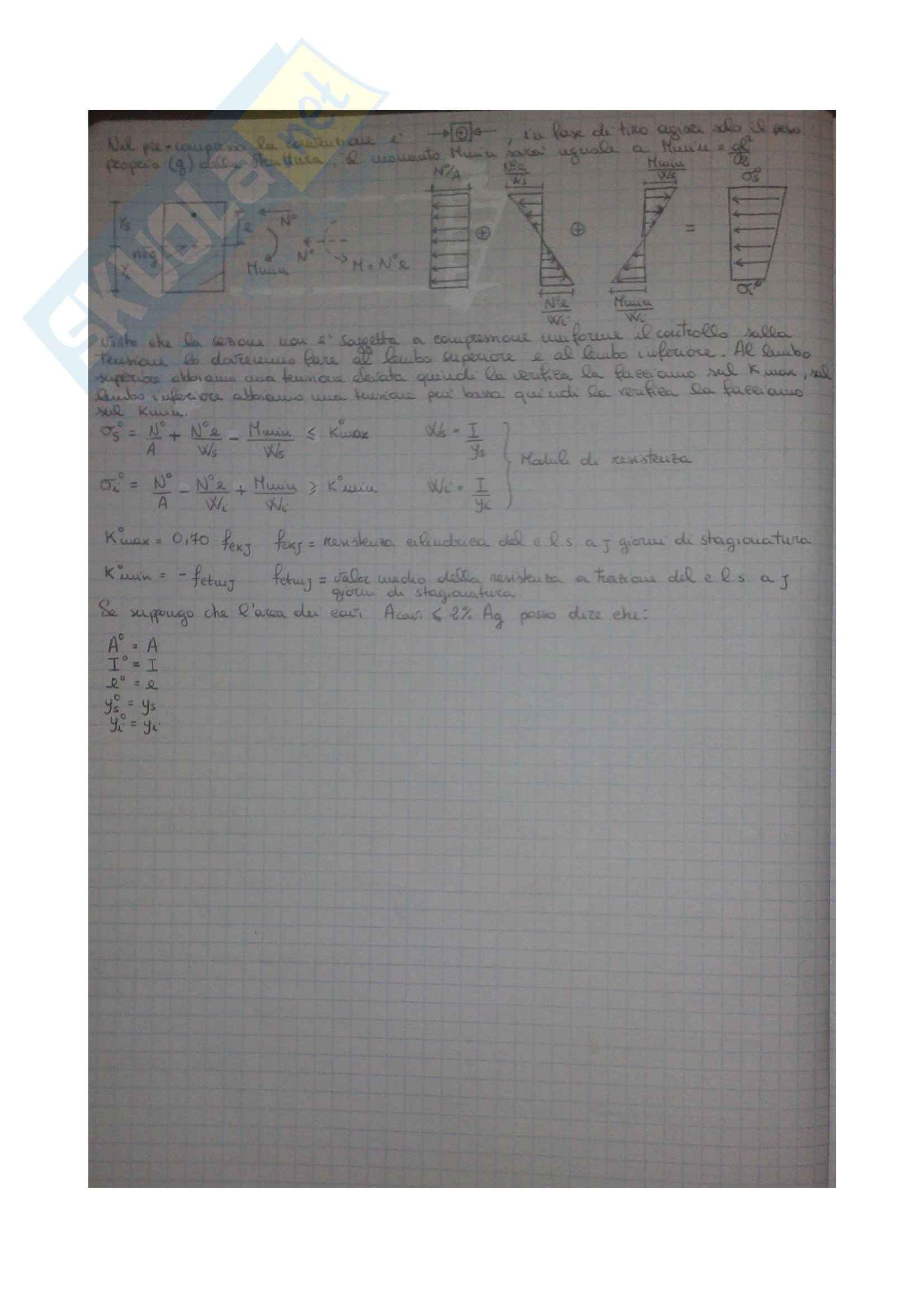 Esercizi Tecnica delle Costruzioni 1 Pag. 6