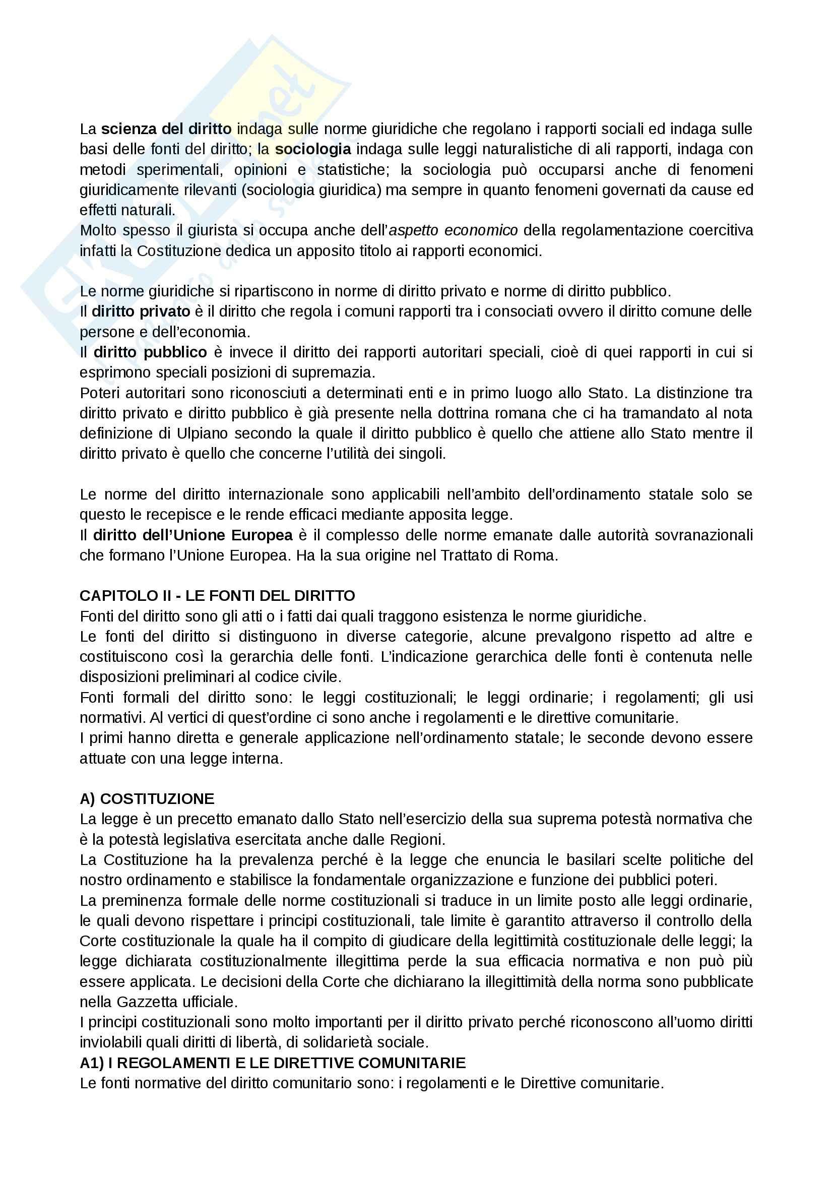 Riassunto esame Giornalismo, prof. Bianca, libro consigliato Istituzioni di diritto privato, Bianca Pag. 2