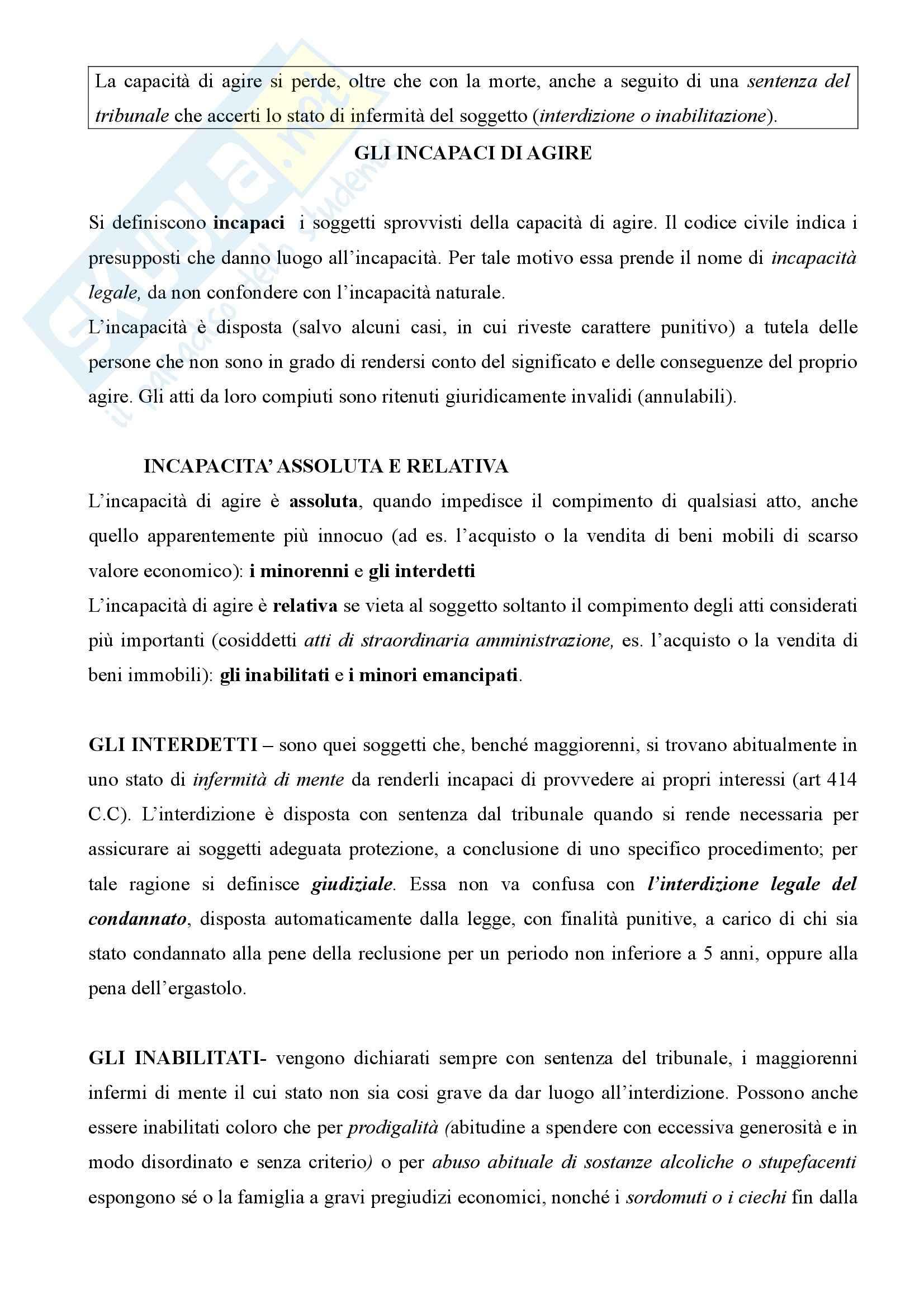 Diritto privato - nozioni generali Pag. 2