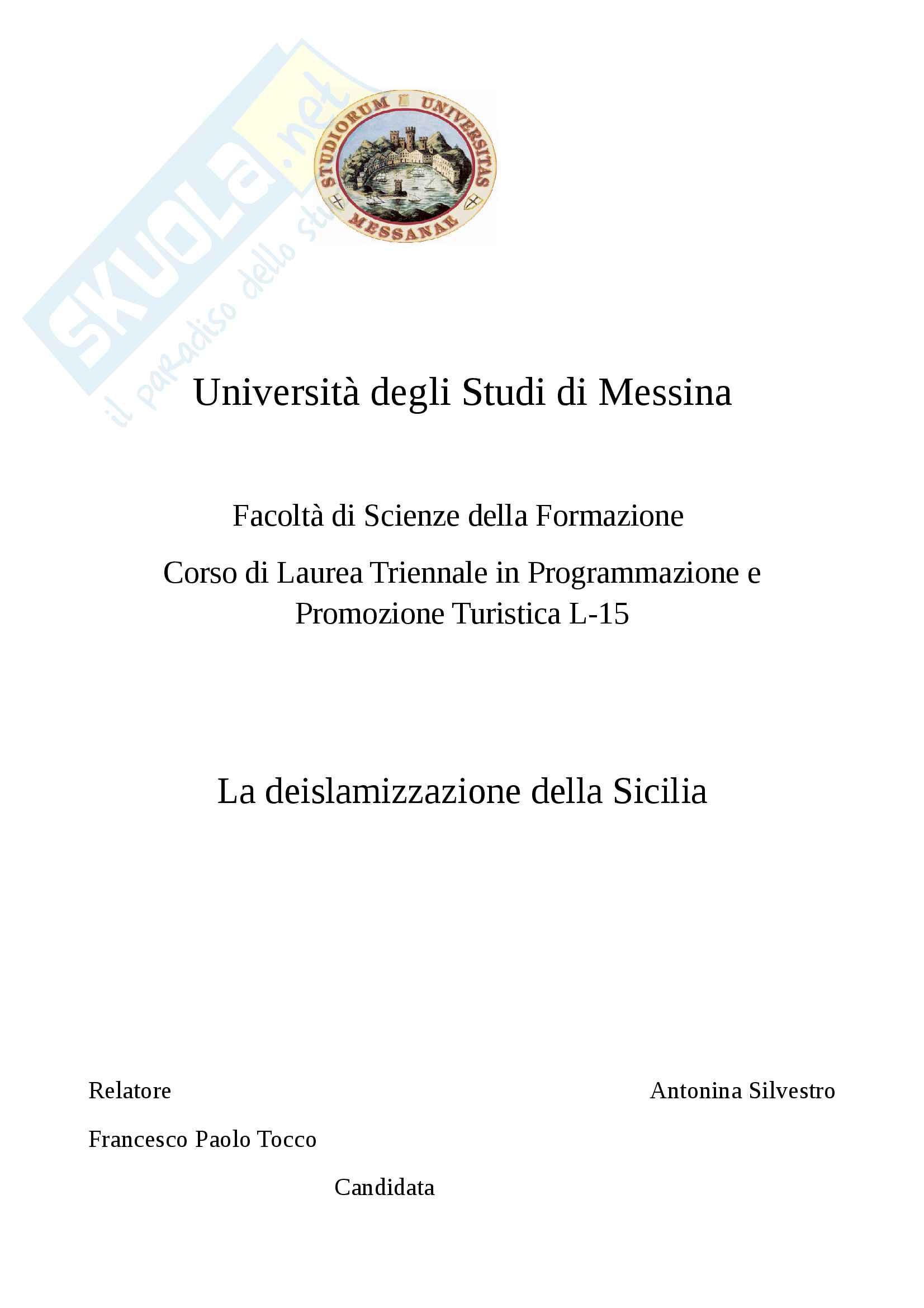 tesi F. Tocco Storia medievale