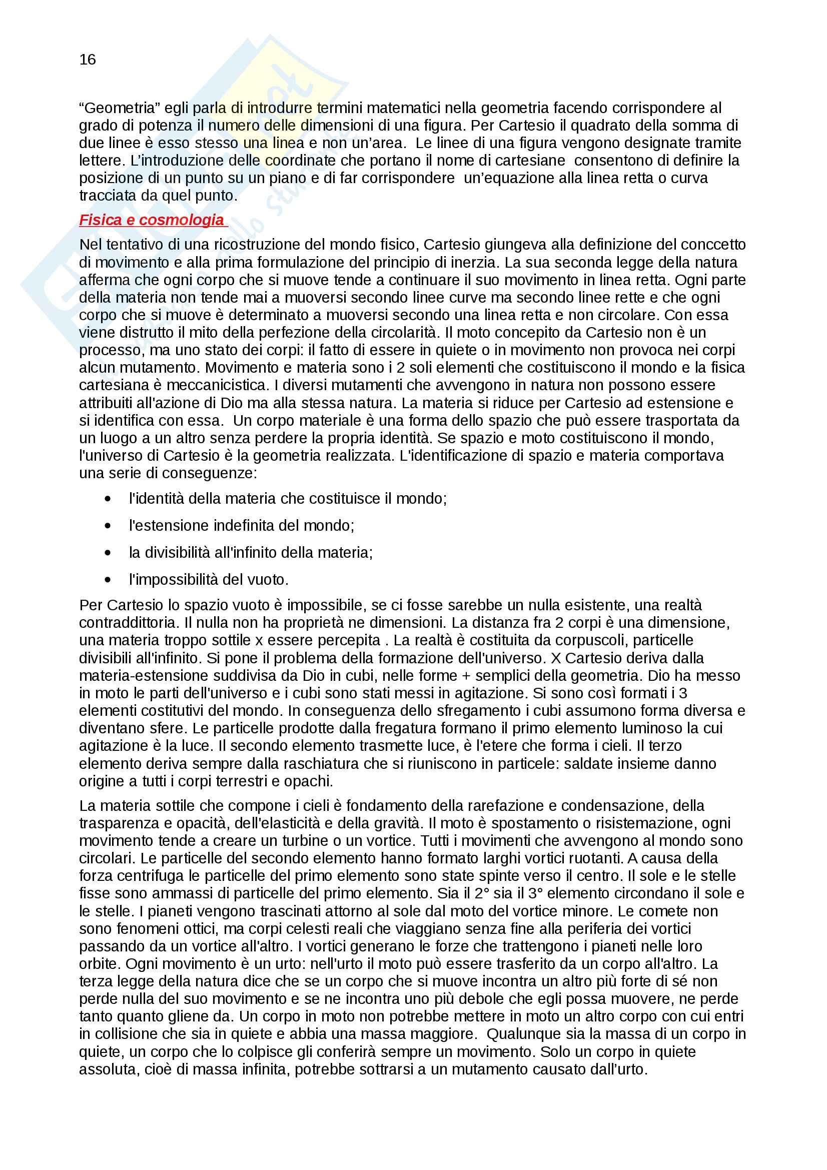 Riassunto esame Storia della scienza, prof. Vaccari, libro consigliato La nascita della scienza moderna in Europa, Rossi Pag. 16