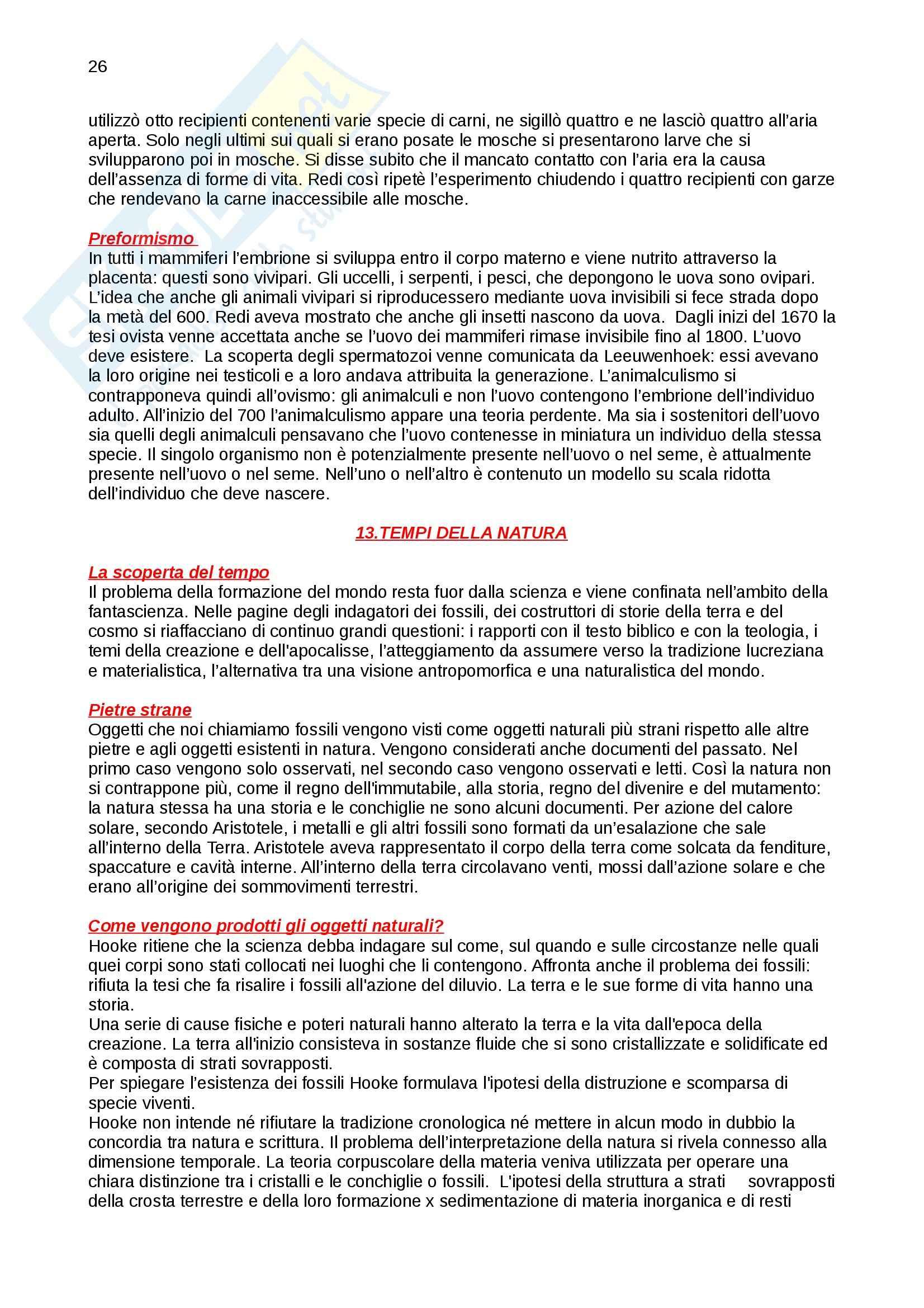 Riassunto esame Storia della scienza, prof. Vaccari, libro consigliato La nascita della scienza moderna in Europa, Rossi Pag. 26