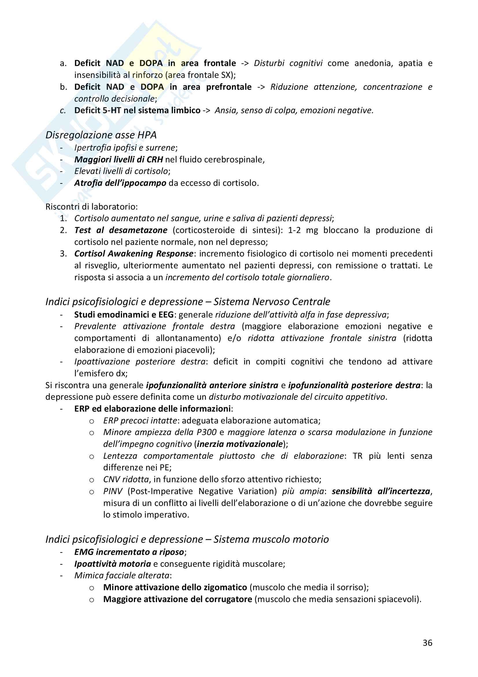 Psicofisiologia Clinica e Psicosomatica Pag. 36
