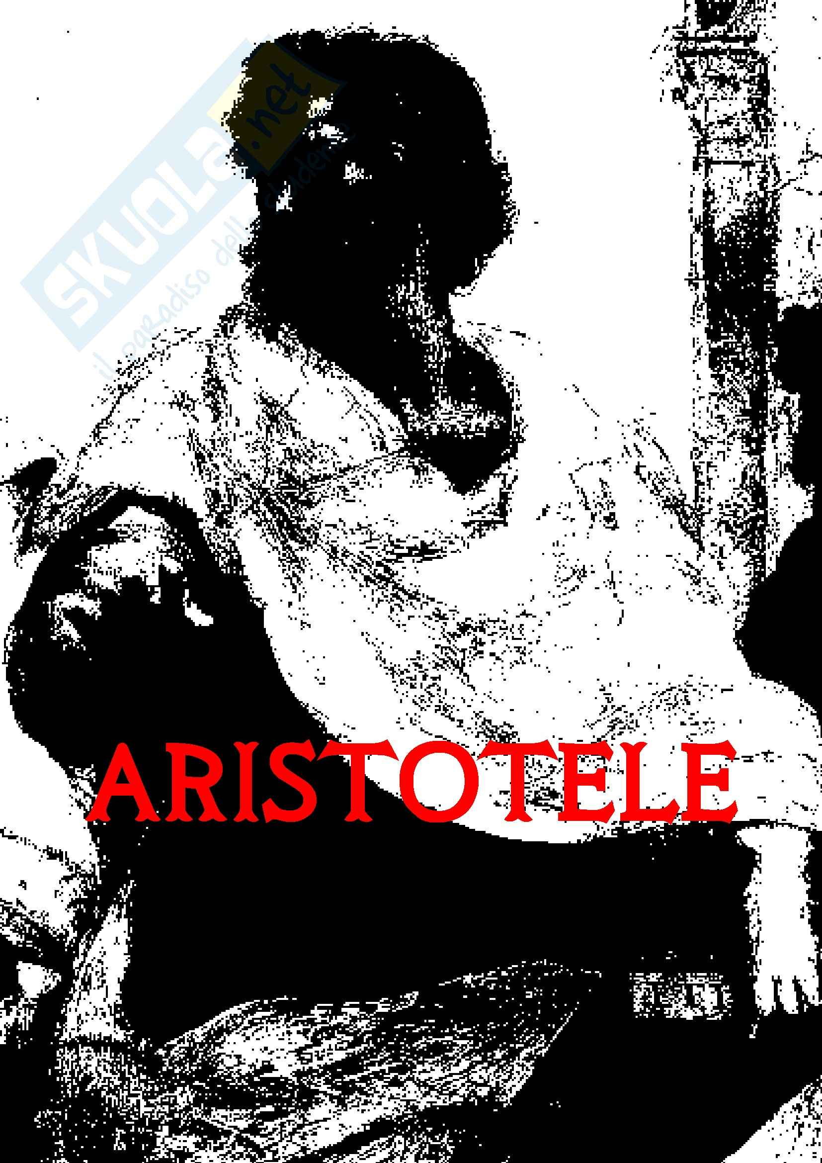 Estetica - Aristotele